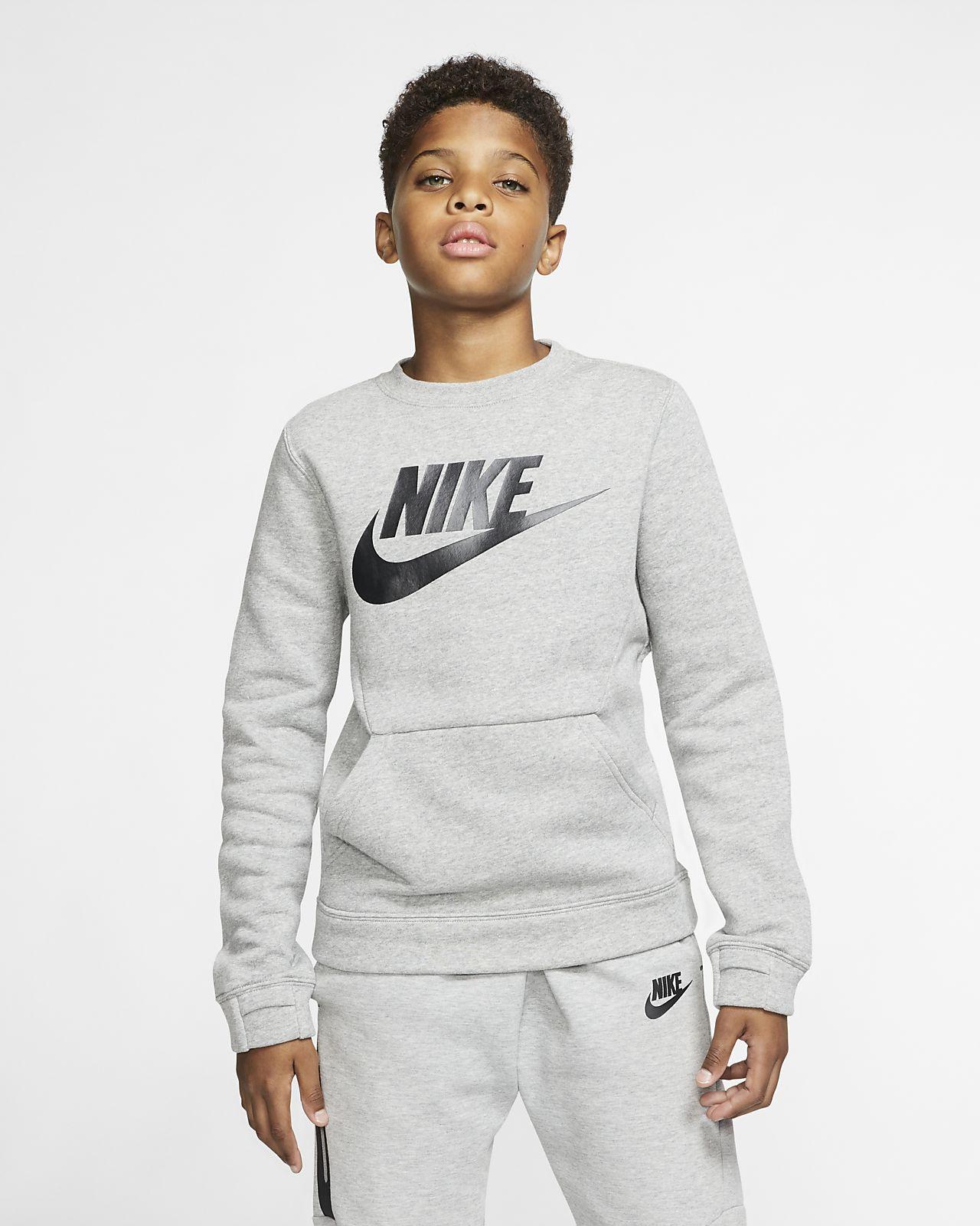Nike Sportswear Club Fleece T-shirt met ronde hals voor kids
