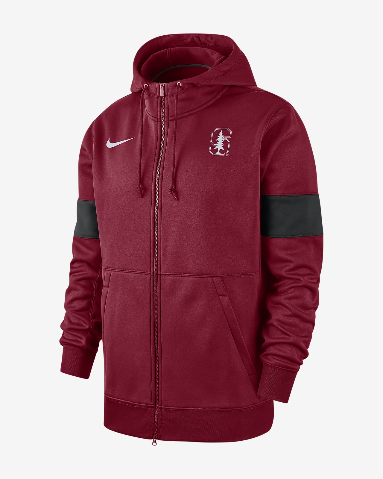Nike College Therma (Stanford) Men's Full-Zip Hoodie
