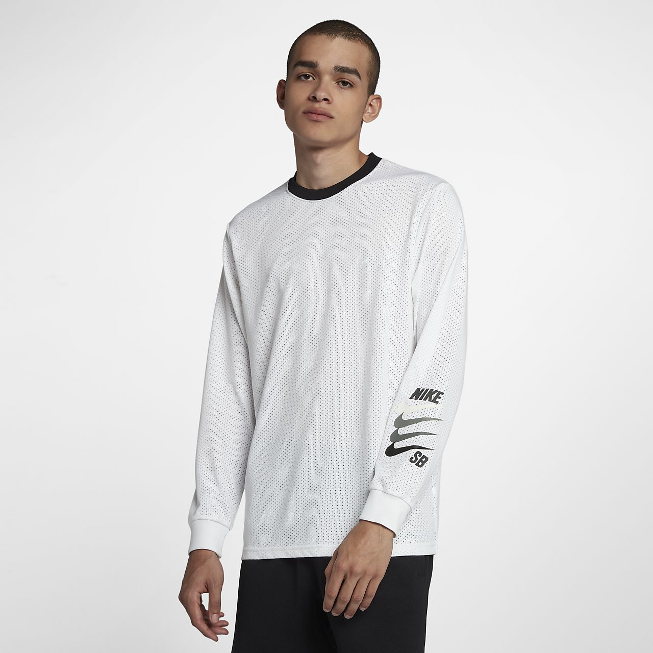 ... Nike SB Dri-FIT Men's Long-Sleeve Top