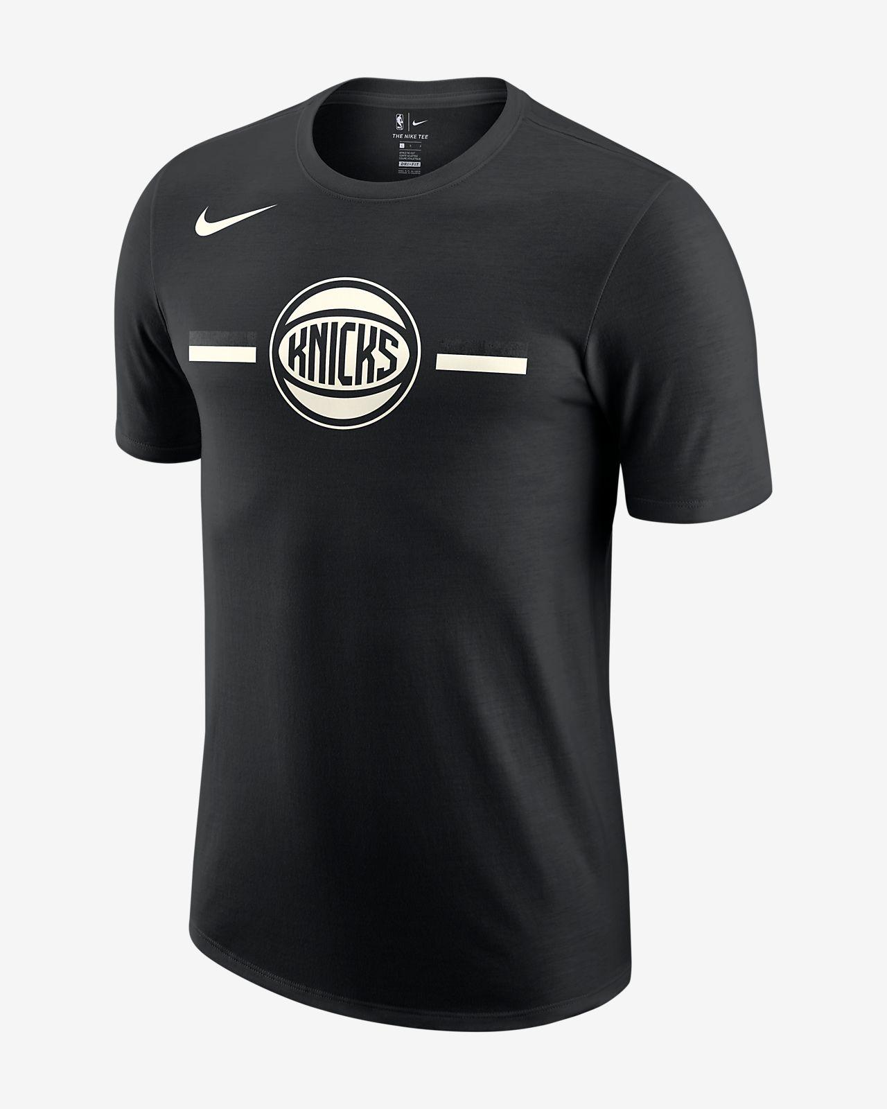 9afe01fe0 New York Knicks Nike Dri-FIT Men s NBA T-Shirt. Nike.com GB