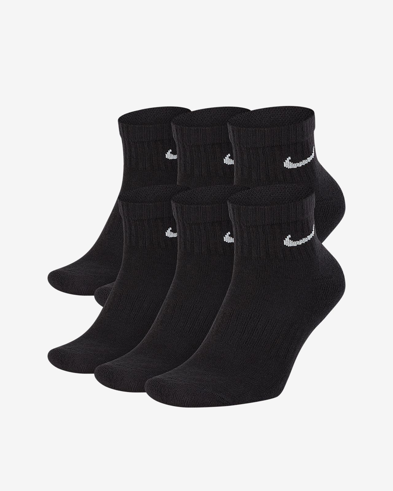 8ef72efe1de2 Nike Everyday Cushion Ankle Training Socks (6 Pair). Nike.com