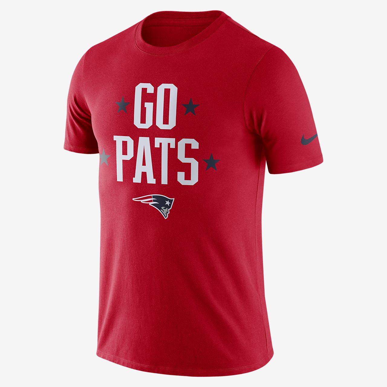 Nike Dri-FIT (NFL Patriots) Big Kids  T-Shirt. Nike.com 4225793a0