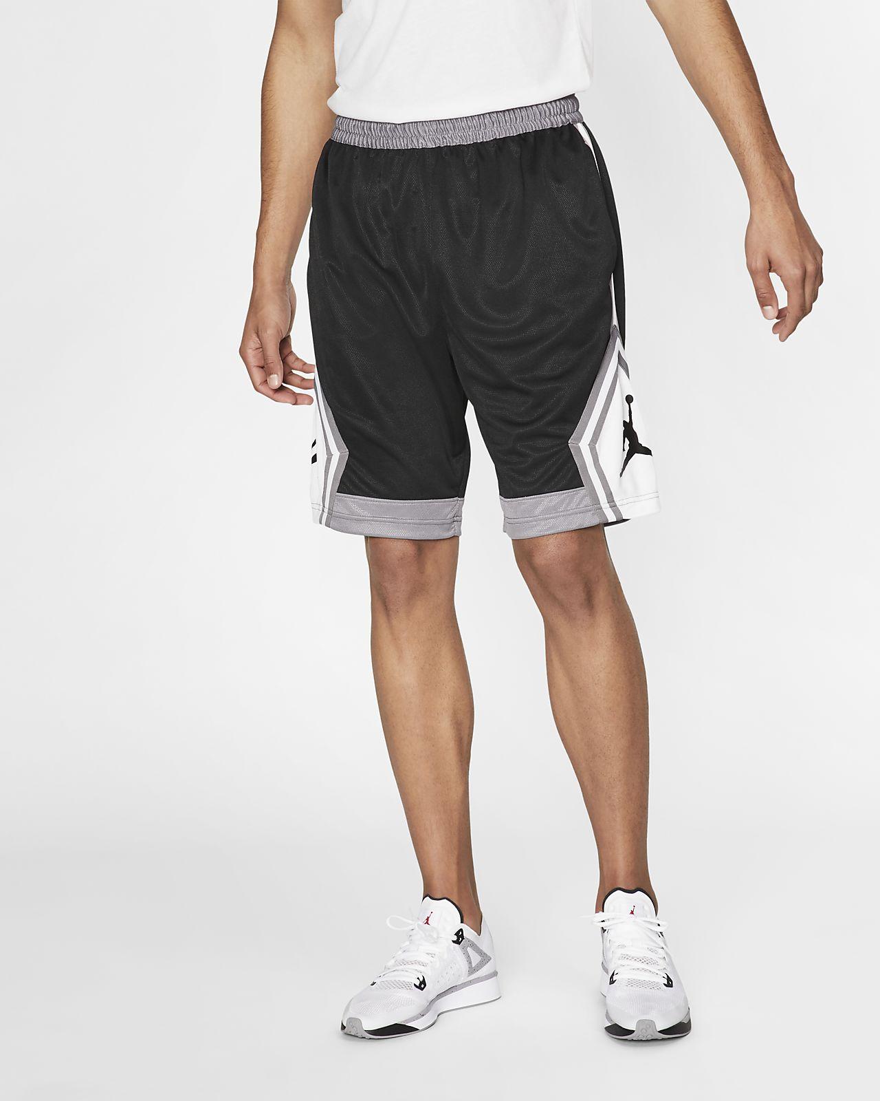 429aca9a9fd Jordan Jumpman Diamond Men's Striped Basketball Shorts. Nike.com AU
