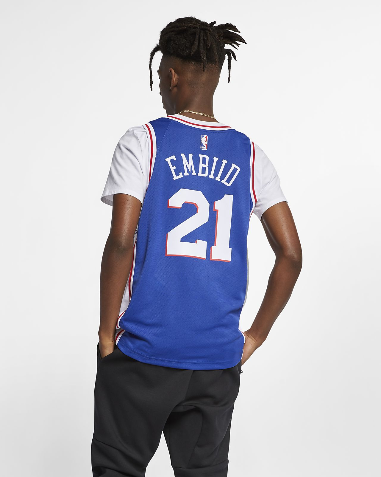 9be3ab81347b ... Joel Embiid Icon Edition Swingman (Philadelphia 76ers) Men s Nike NBA  Connected Jersey