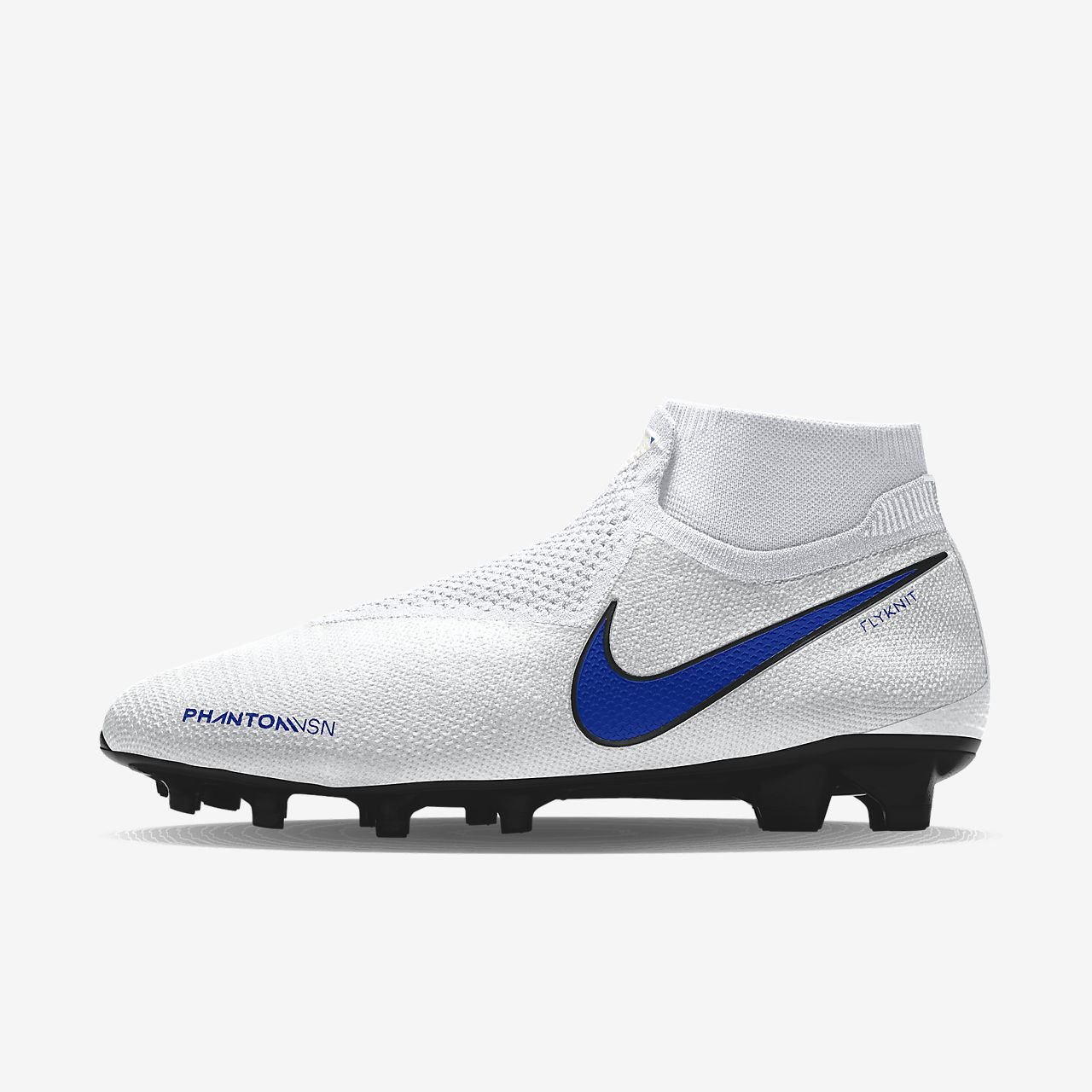 Nike Phantom Vision Elite FG By You Botas de fútbol para terreno firme personalizables