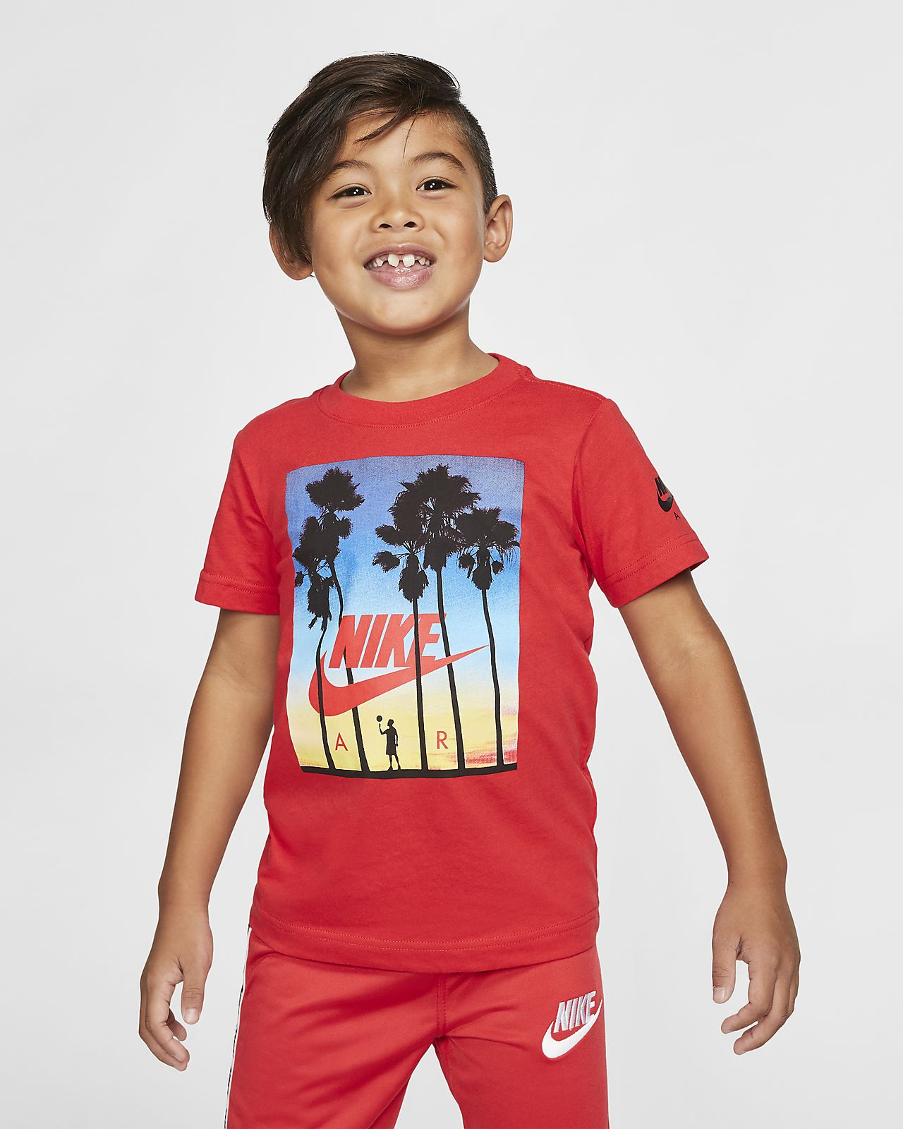 Nike Air Younger Kids' Short-Sleeve T-Shirt