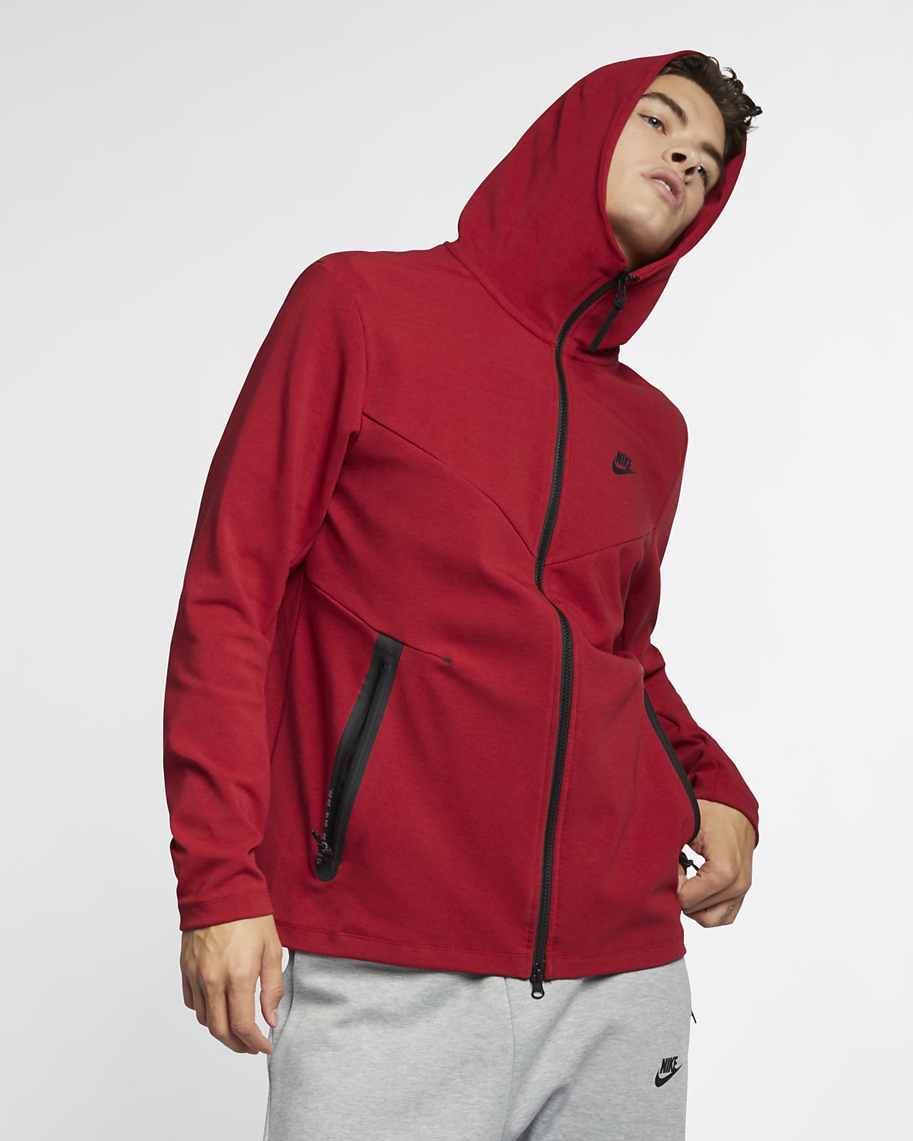 Nike Sportswear Tech Pack Men s Full-Zip Hoodie. Nike.com 718eead72