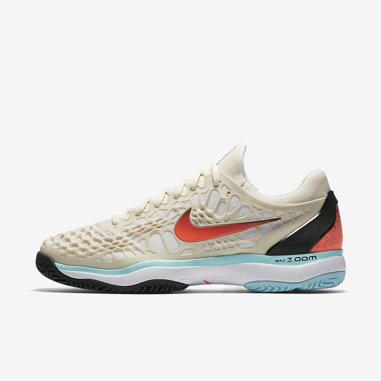 779027247362 Nike NikeCourt Zoom Cage 3 Hard Court Men s Tennis Shoe at £68.47 ...