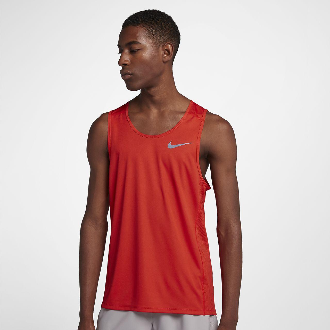 Nike Cool Miler Hardlooptanktop voor heren