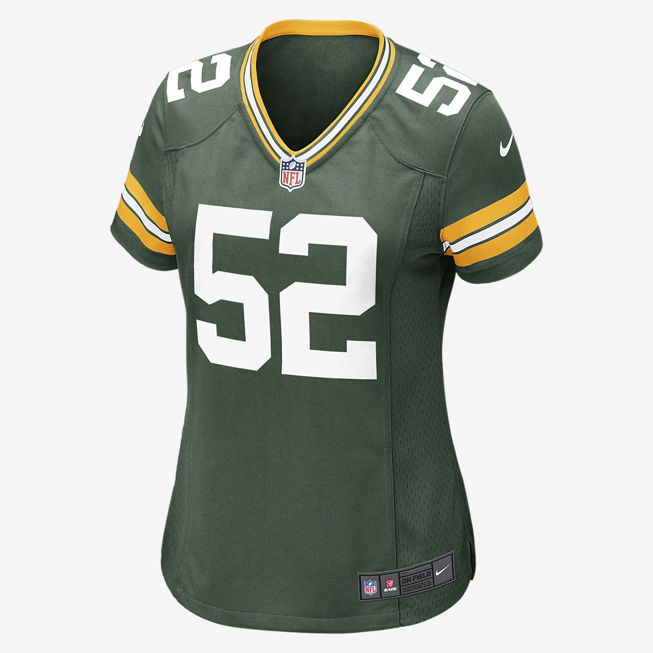 Women s Football Jersey. NFL Green Bay Packers Game Jersey (Clay Matthews) bacc31c83