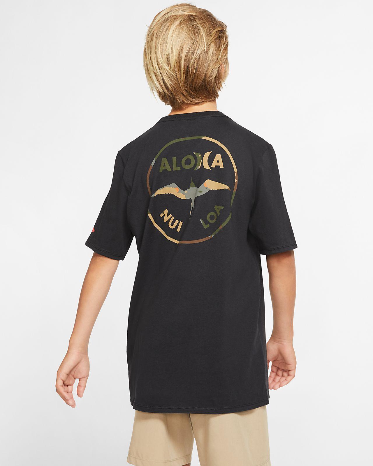 Tee-shirt coupe Premium Hurley Premium JJF Aloha pour Garçon