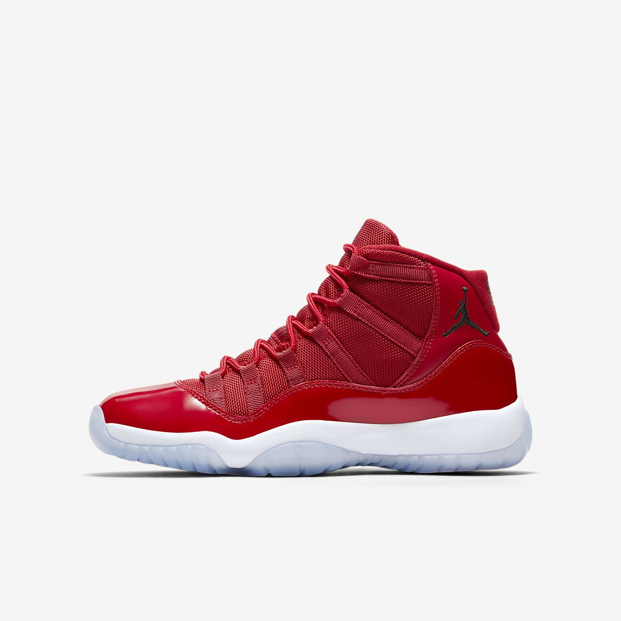 ... Air Jordan XI Retro Three-Quarter Older Kids' Shoe