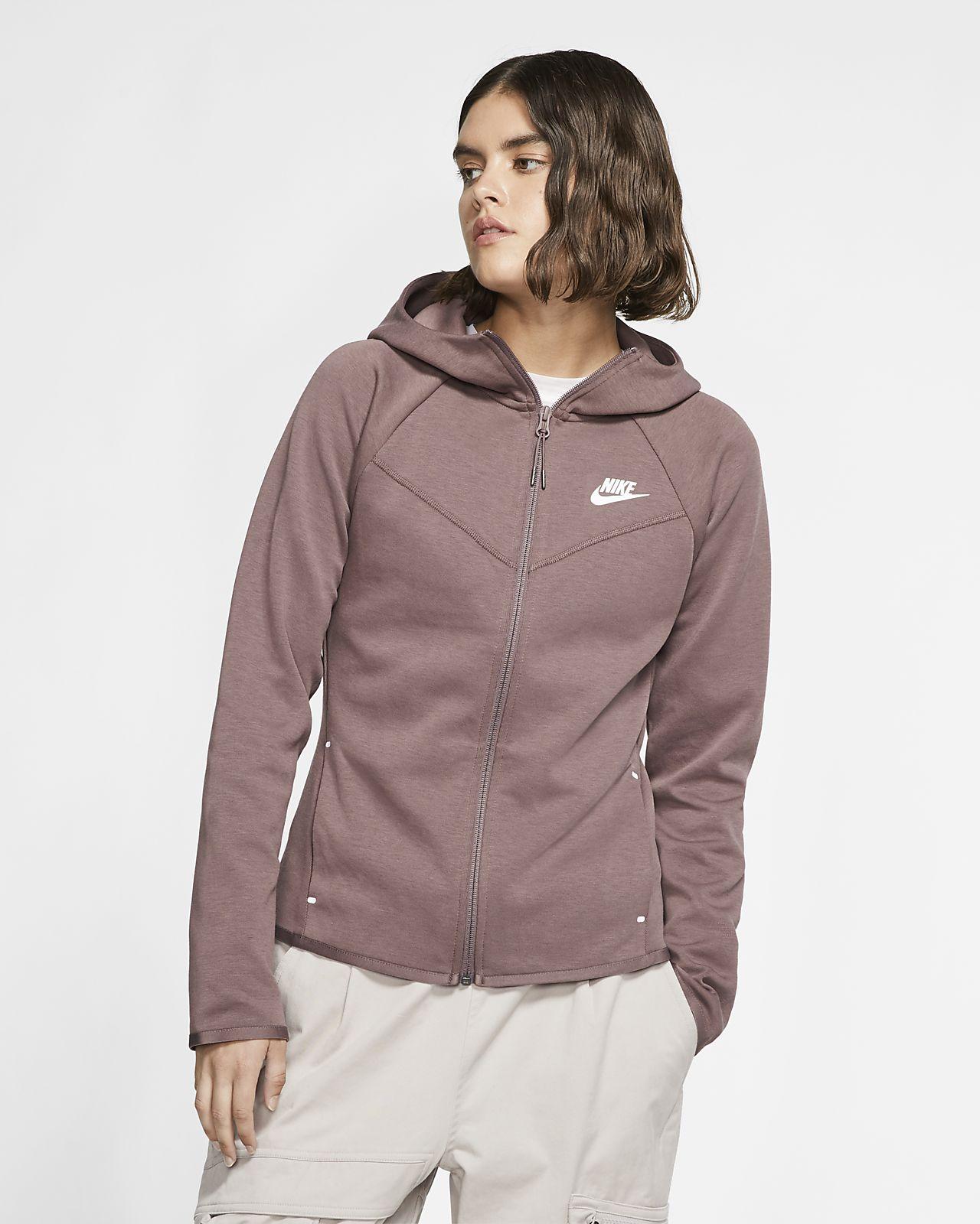 Nike Sportswear Windrunner Tech Fleece Women S Full Zip Hoodie Nike Com