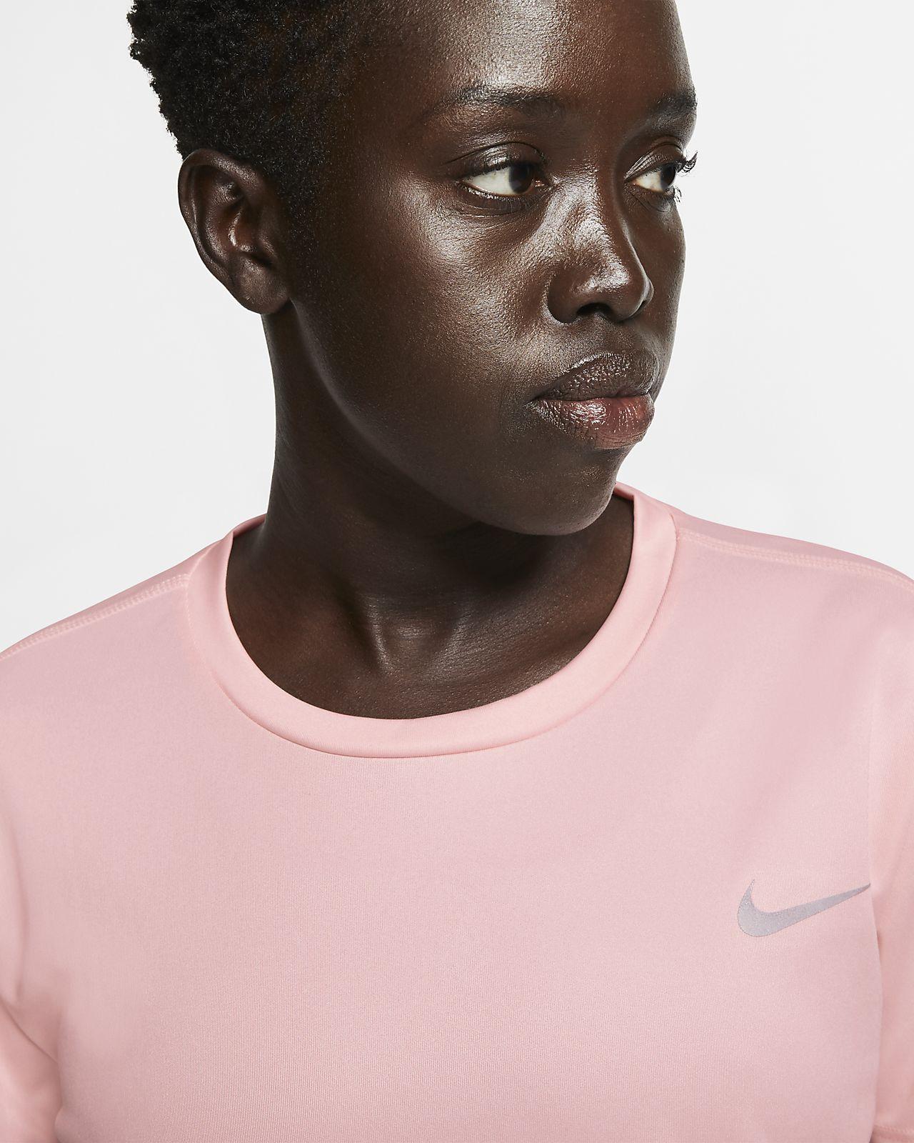 523be68155c84b Camisola de running de manga curta Nike Miler para mulher
