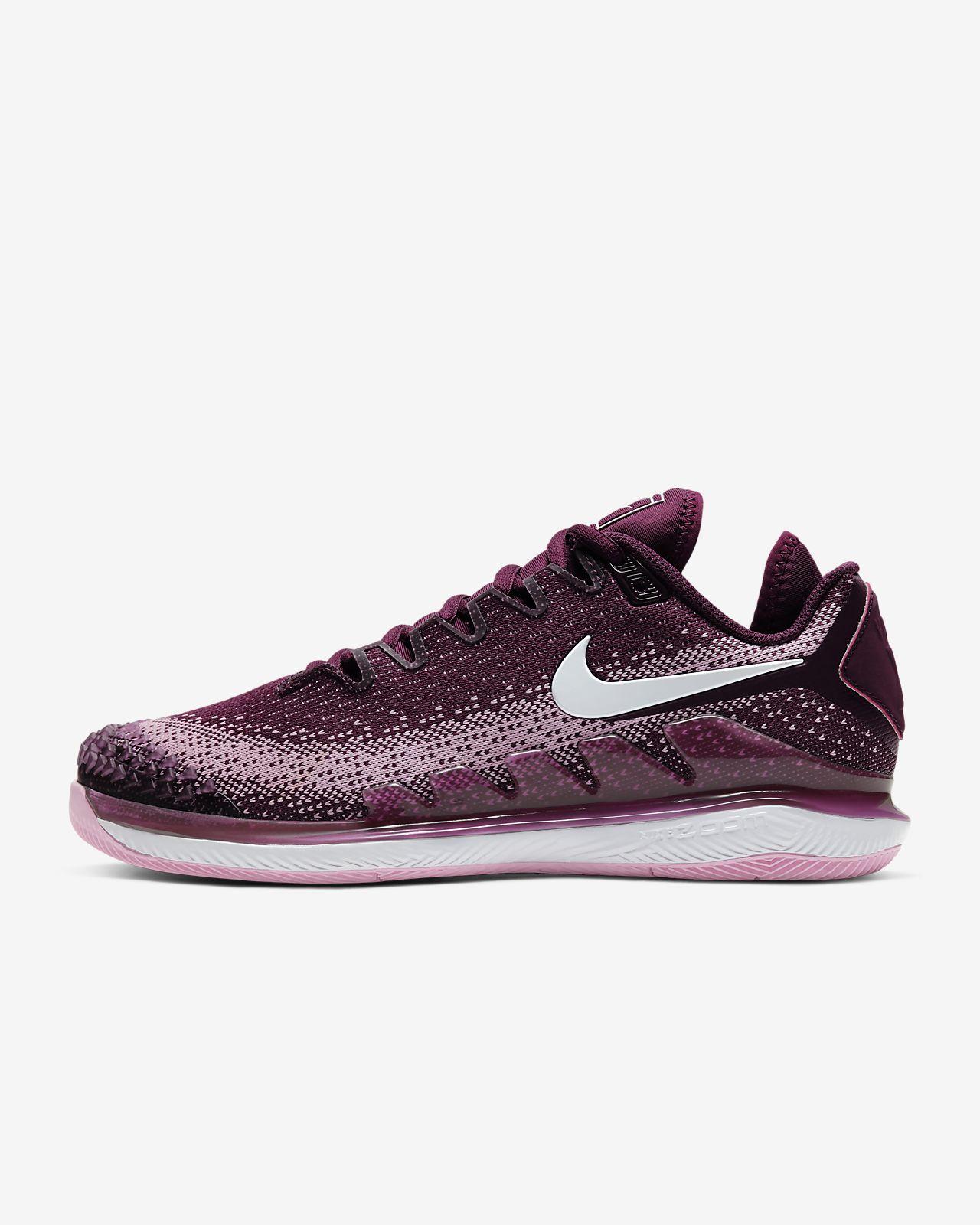 NikeCourt Air Zoom Vapor X Knit Hardcourt tennisschoen voor dames