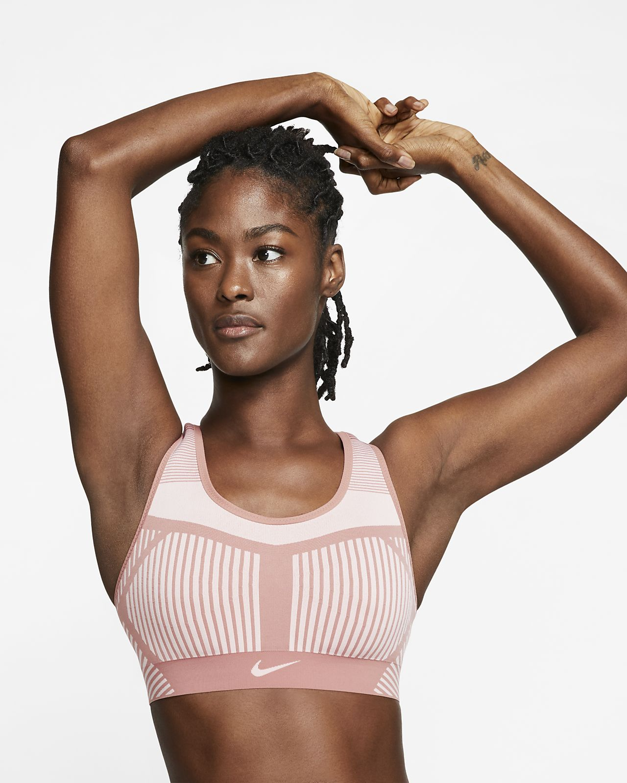 Nike FE/NOM Flyknit Women's High-Support Sports Bra