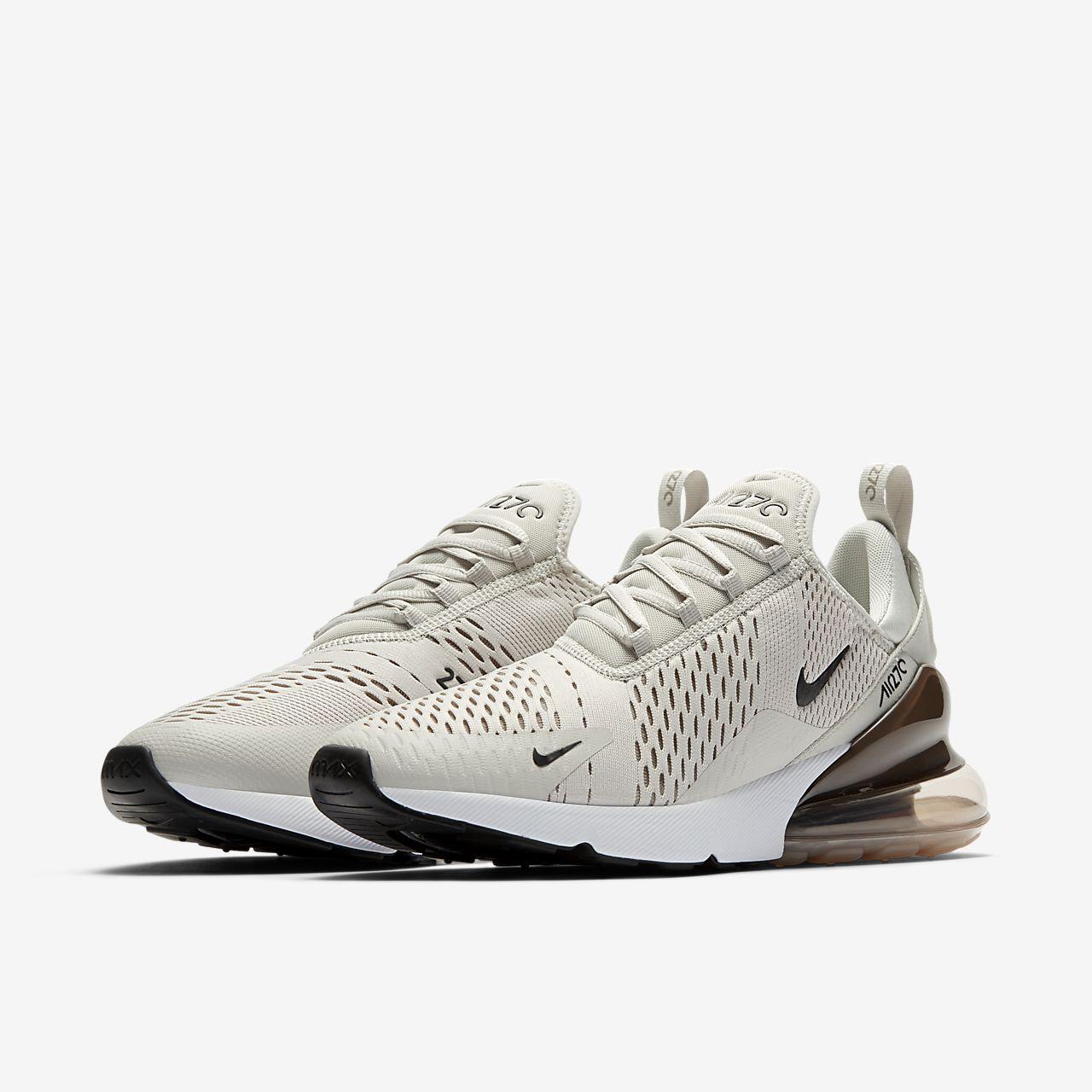 Chaussures Basses Wmns Air Max 1 Beige / Noir / Blanc Nike hgZYpO