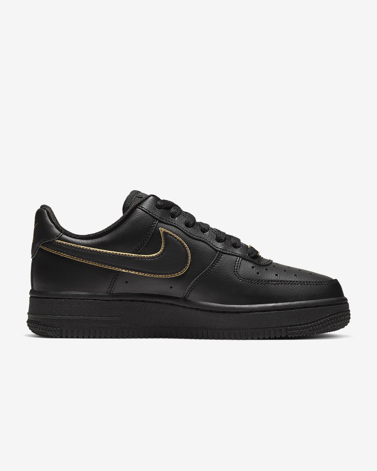 Women Nike Sportswear Air Force 1 '07 Ess Trainers Black