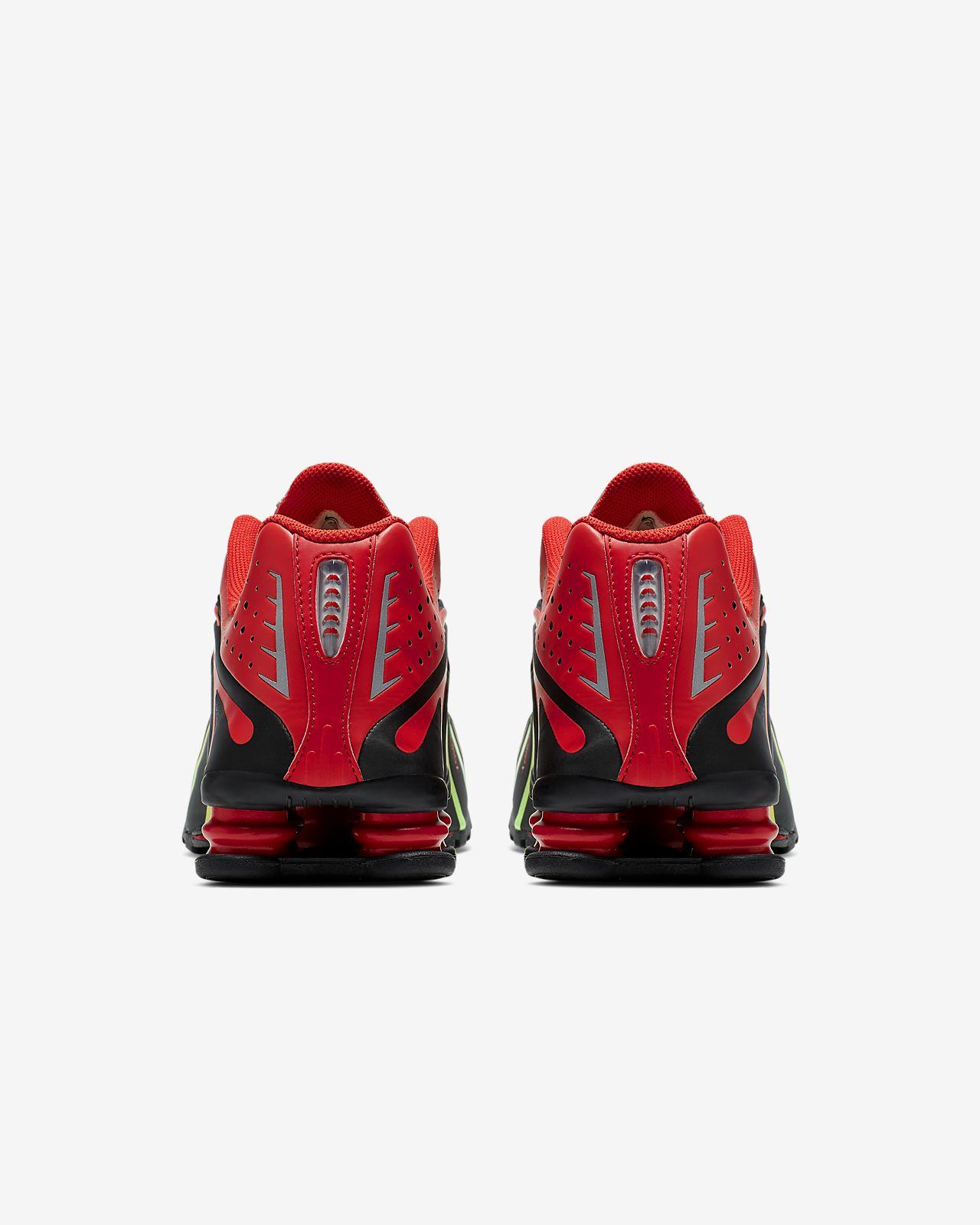 nike shox r4 rojo