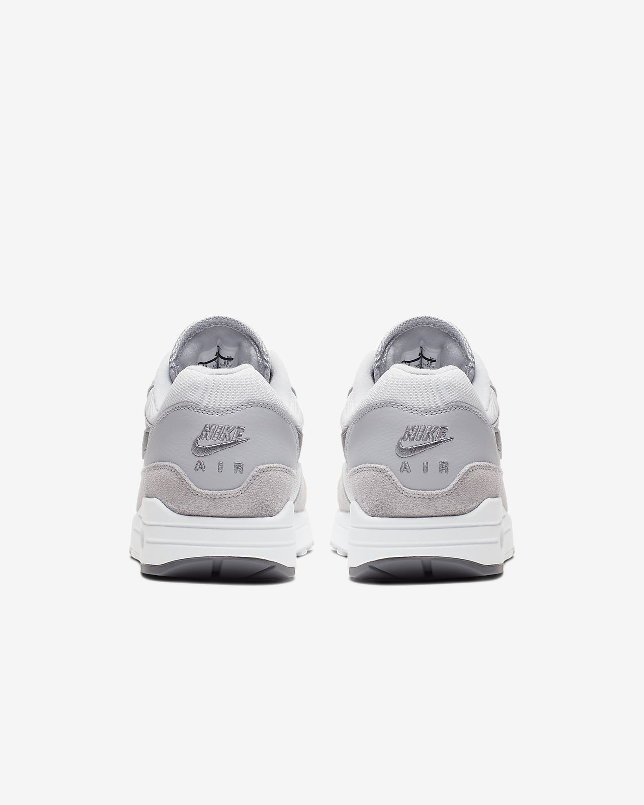 Nike Air Max One men's 10 WhiteBlackGrey colour way Barely