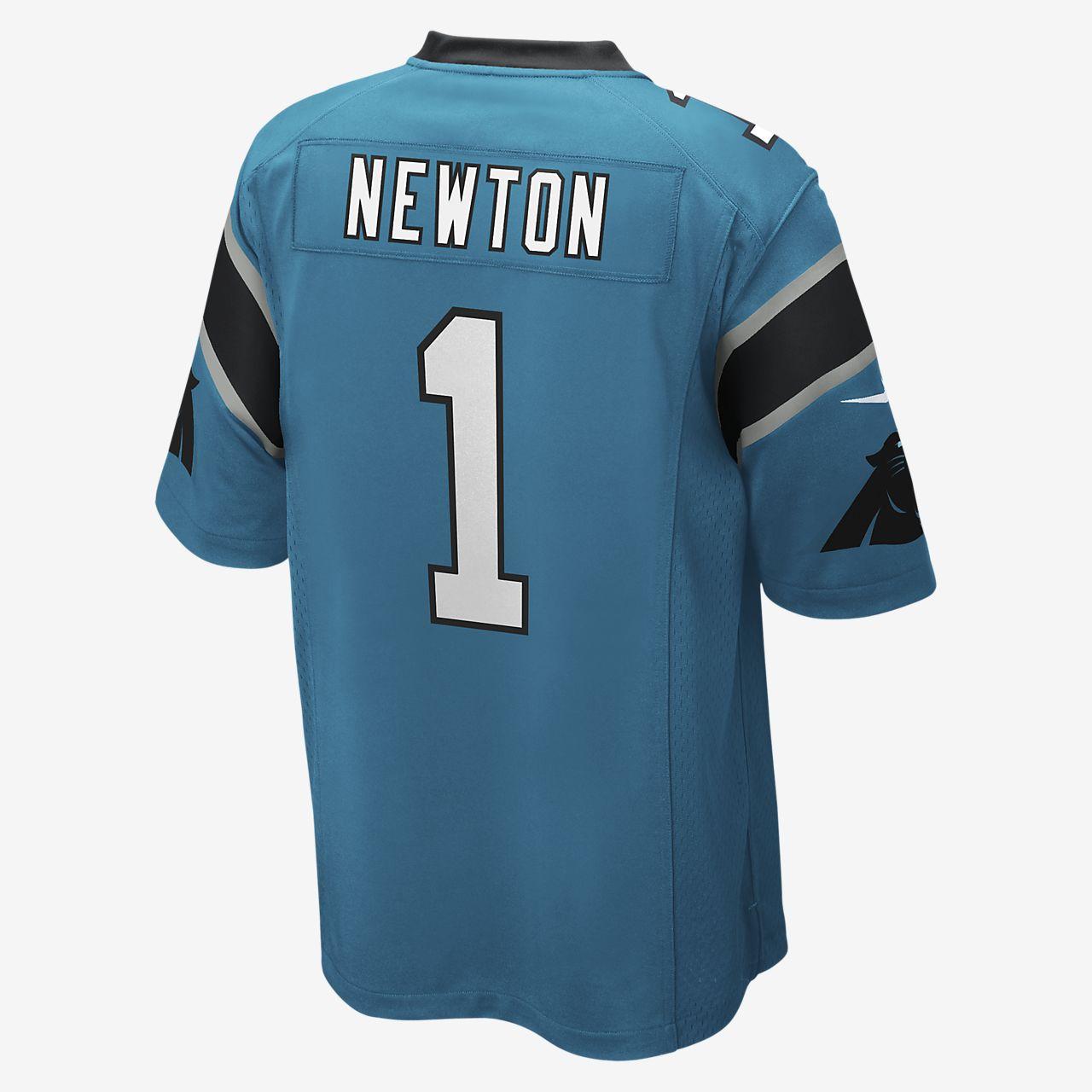 quality design e1388 fa48a NFL Carolina Panthers (Cam Newton) Men's Game Football Jersey