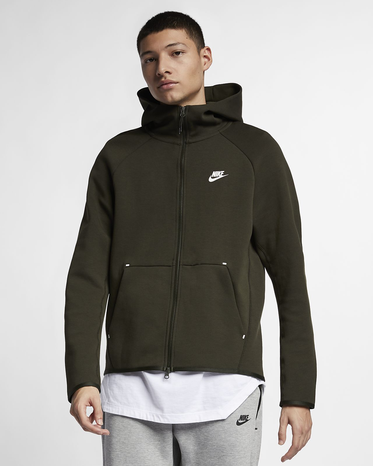 7333de129e77 Nike Sportswear Tech Fleece Men s Full-Zip Hoodie. Nike.com