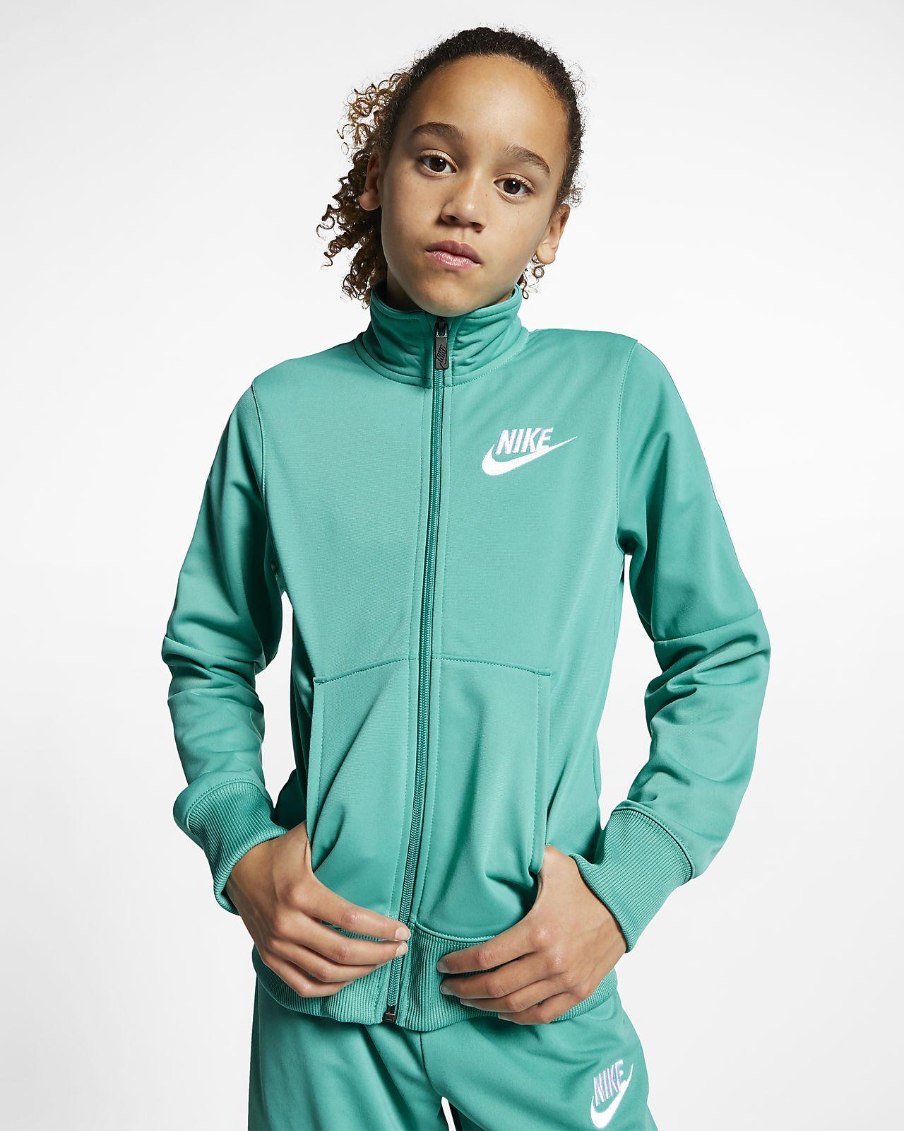 c8f36f55680f Nike Sportswear Big Kids  (Girls ) Tracksuit. Nike.com