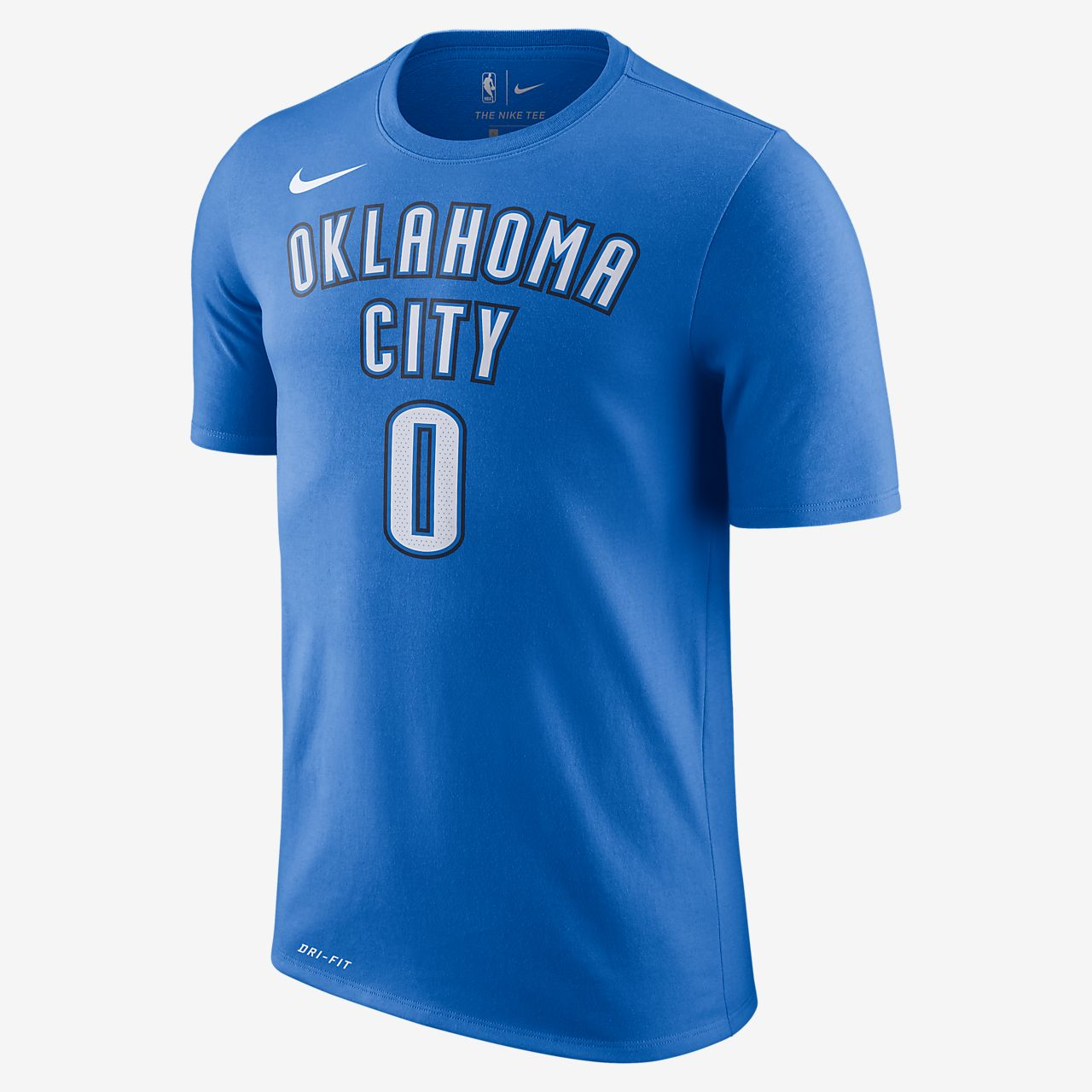 19be91eff39f ... best price russell westbrook oklahoma city thunder nike dri fit mens  nba t shirt e6994 af014