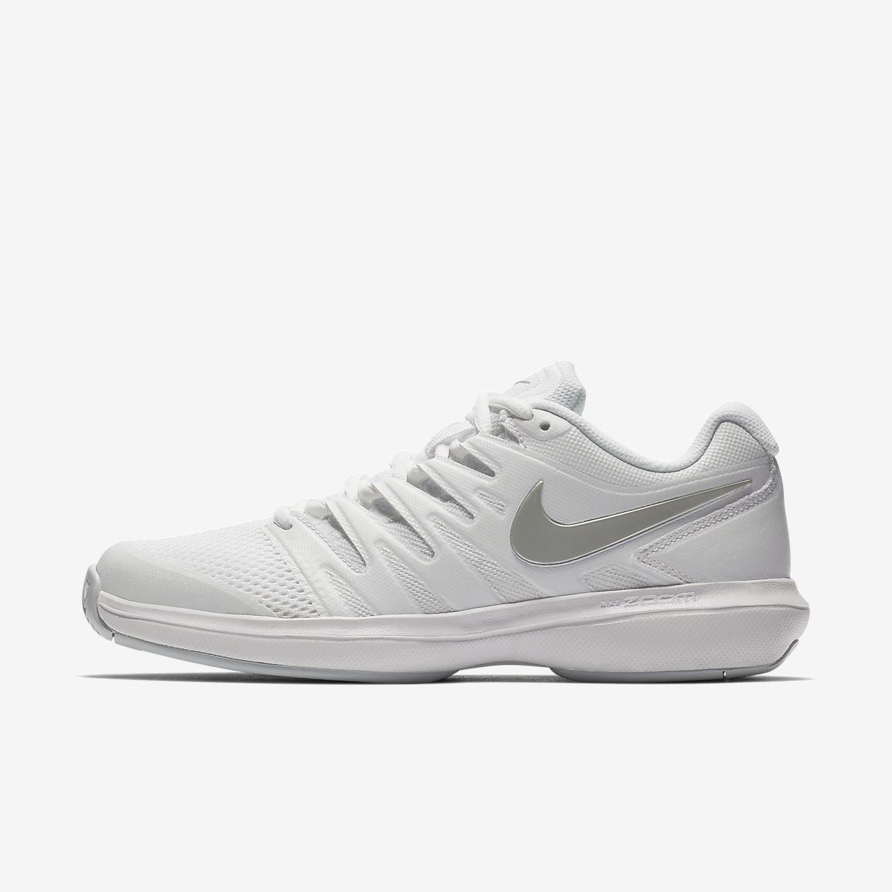 Nike - Air Zoom Prestige Femmes Chaussure de tennis (blanc/Orange) - EU 38 - US 7 w49cH1Pn