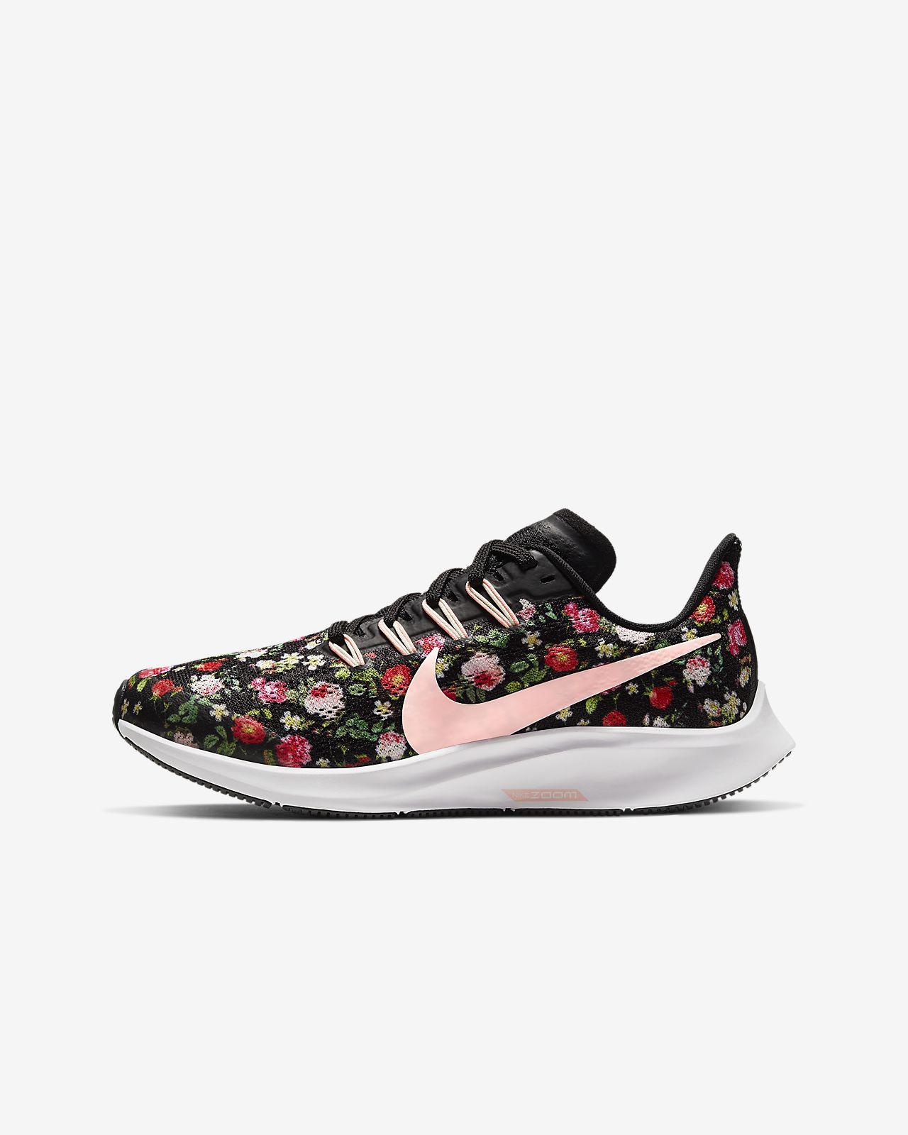 Nike Air Zoom Pegasus Vintage Floral-sko til små/store børn