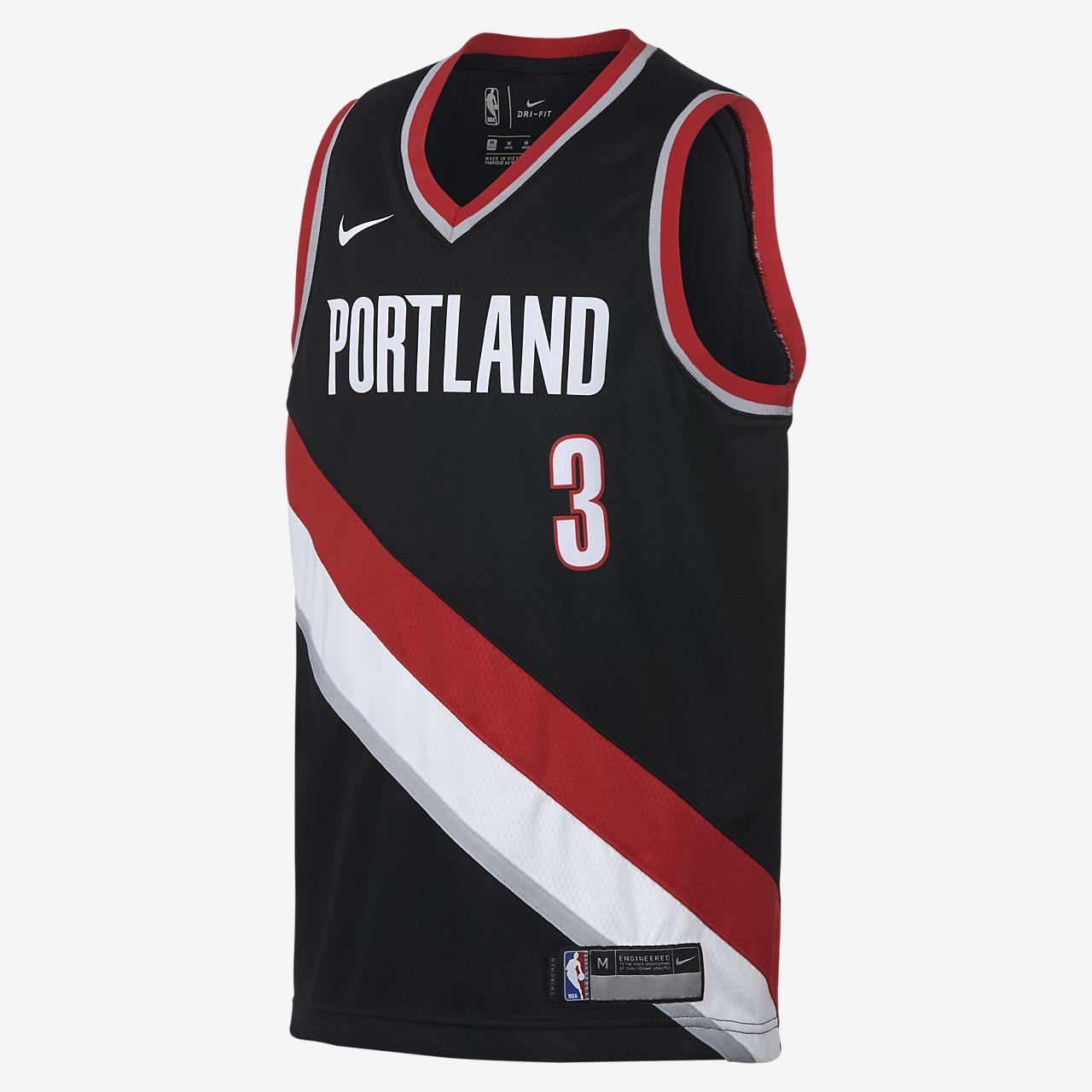 Portland Trail Blazers Media Guide: CJ McCollum Portland Trail Blazers Nike Icon Edition