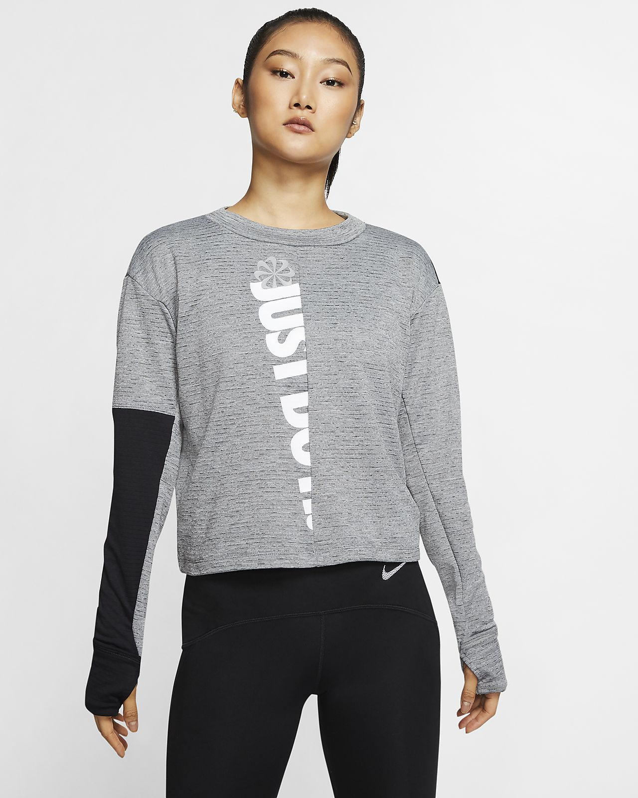 Nike Therma Sphere Icon Clash Women's Long-Sleeve Running Top