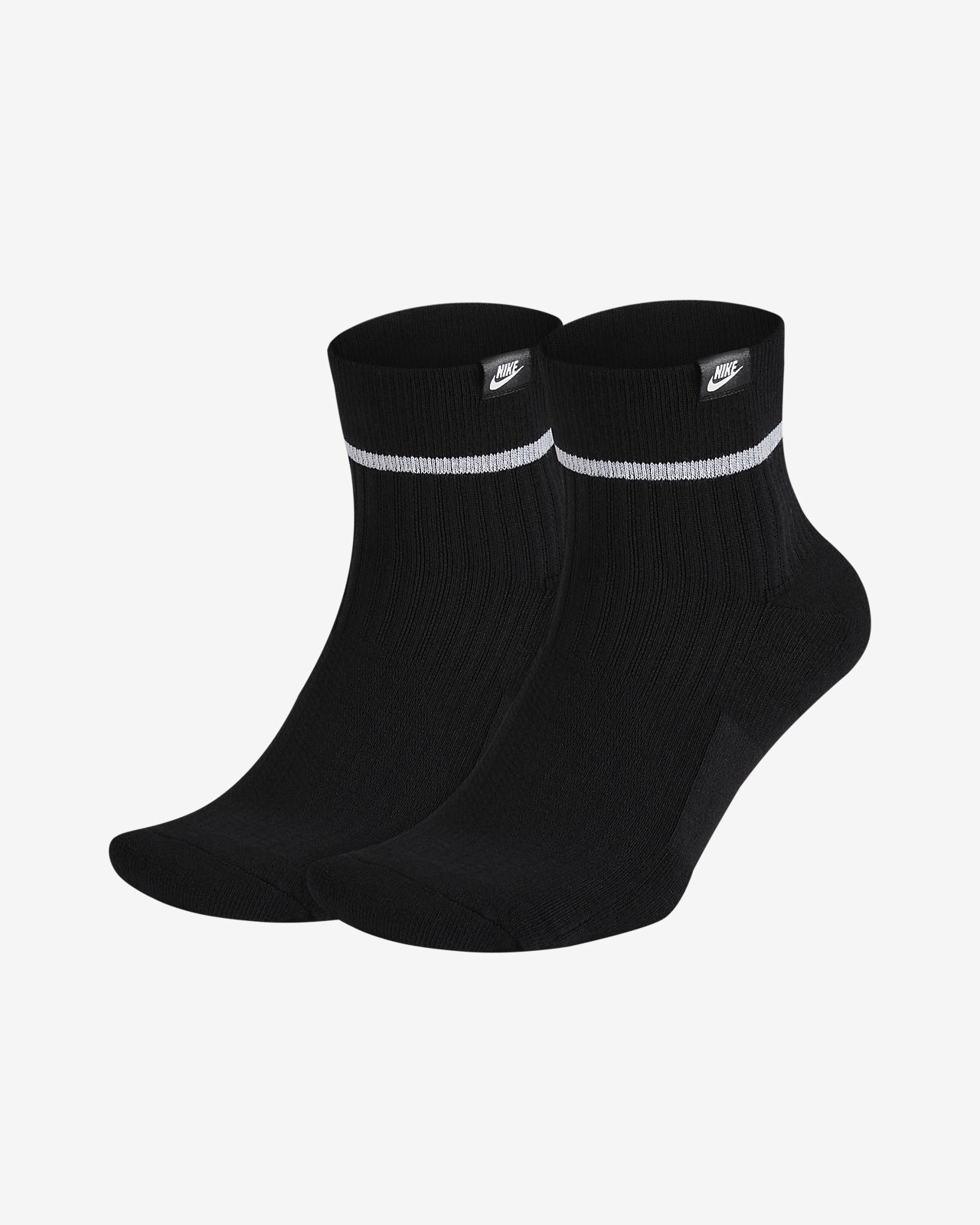 Nike Essential Ankle 运动袜(2 双)