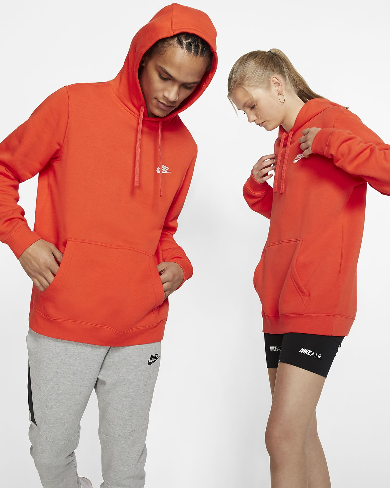 4d4a73b08 Nike Sportswear Club Fleece Pullover Hoodie. Nike.com