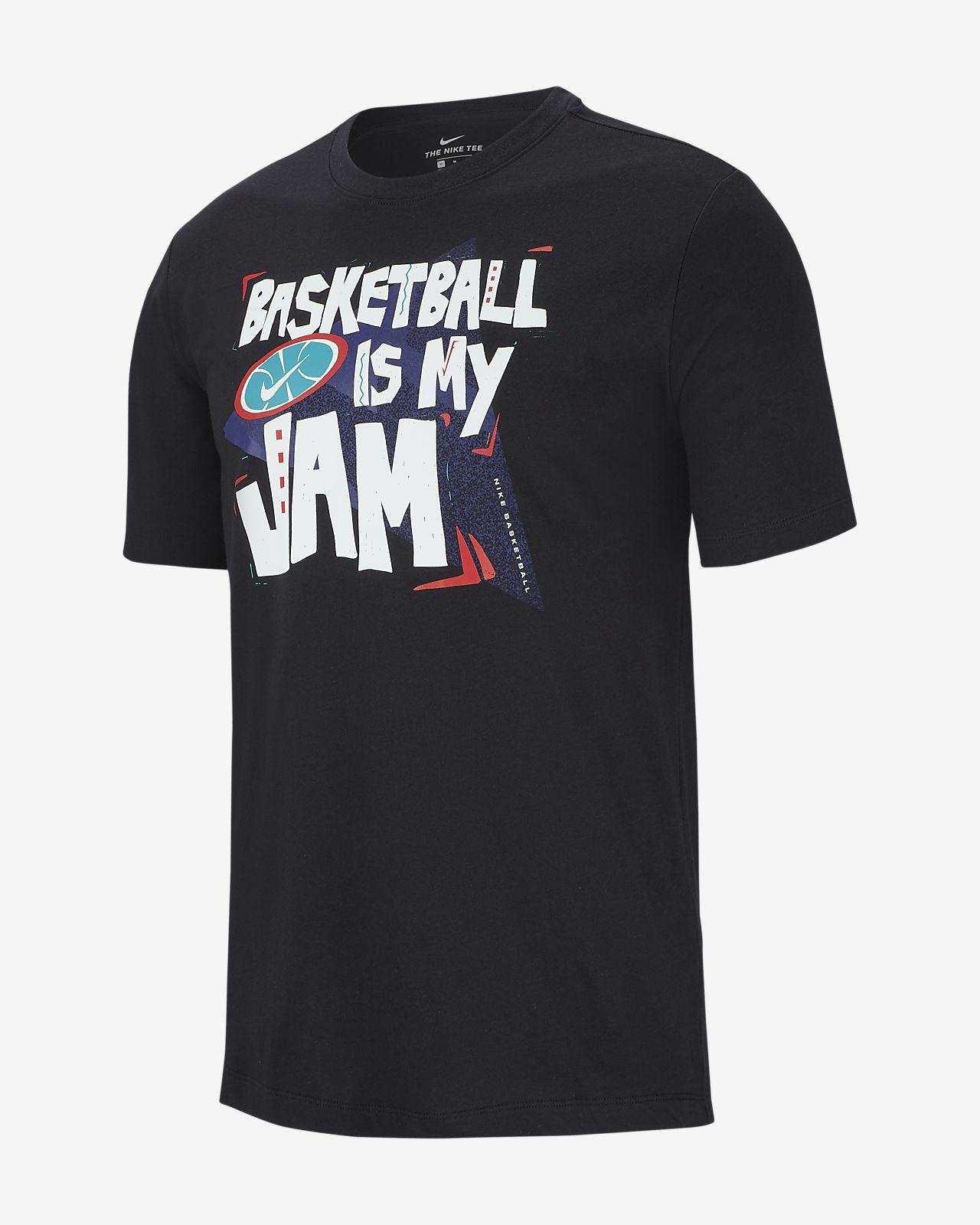"""ナイキ Dri-FIT """"Jam"""" メンズ バスケットボール Tシャツ"""