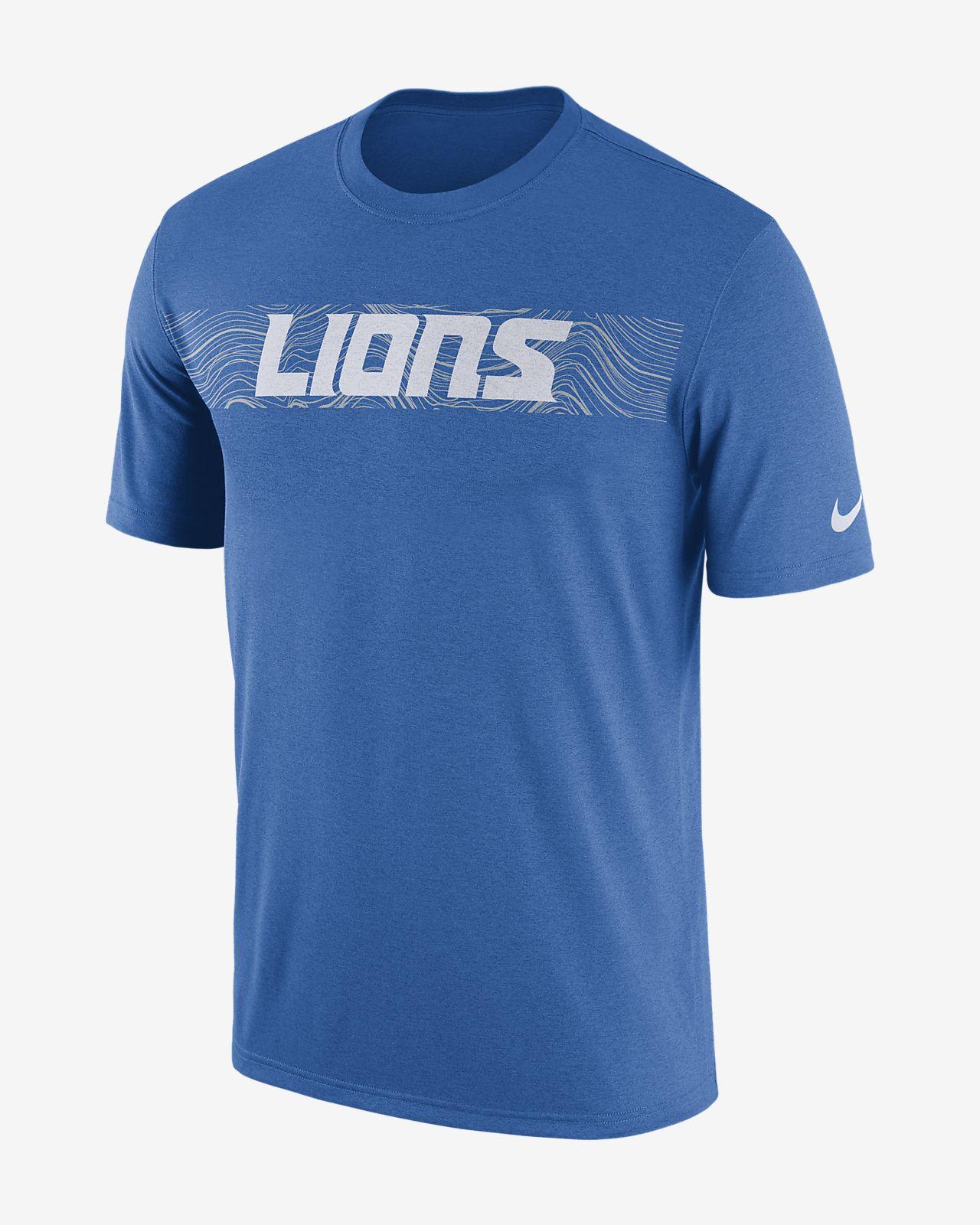 Playera para hombre Nike Dri-FIT Legend Seismic (NFL Lions)