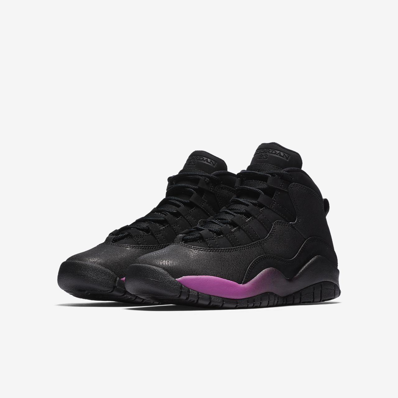 d8fb593c41770 Air Jordan X Retro (3-9) Older Kids  Basketball Shoe. Nike.com HR