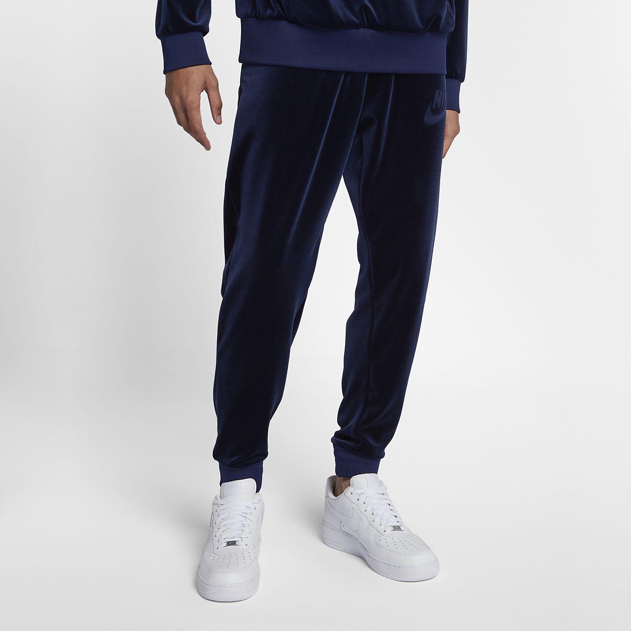 innovative design a9f91 e07a1 Nike Sportswear Men s Velour Trousers. Nike.com AU