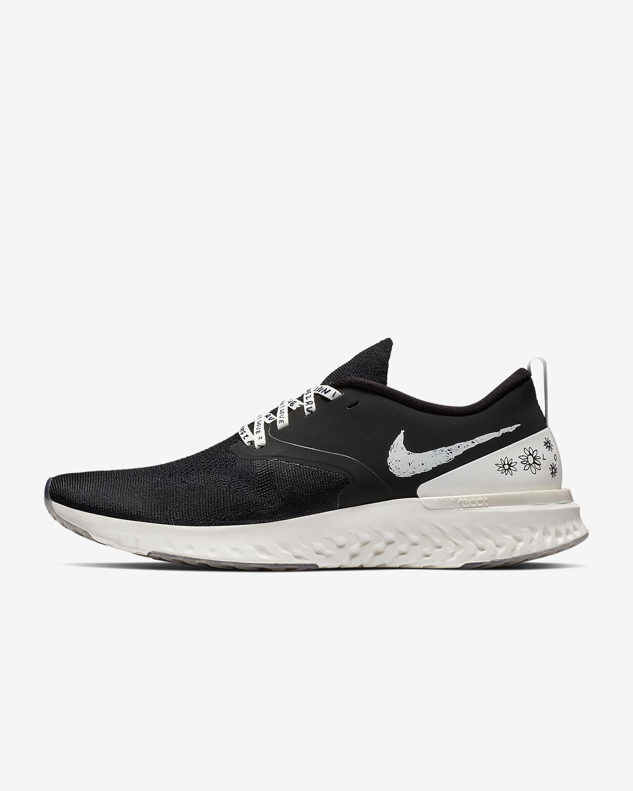รองเท้าวิ่งผู้ชาย Nike Odyssey React Flyknit 2 Nathan Bell