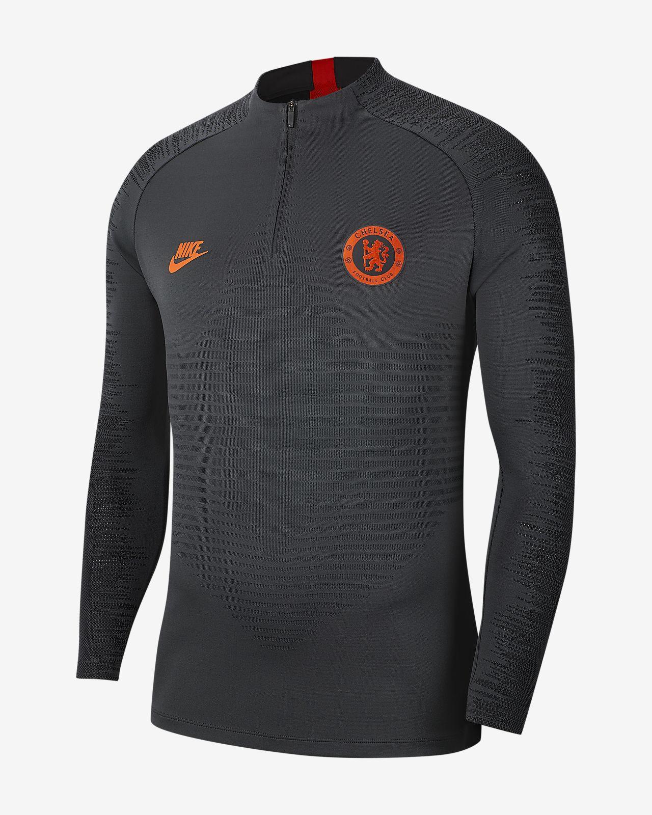 Nike VaporKnit Chelsea FC Strike-træningsoverdel til mænd