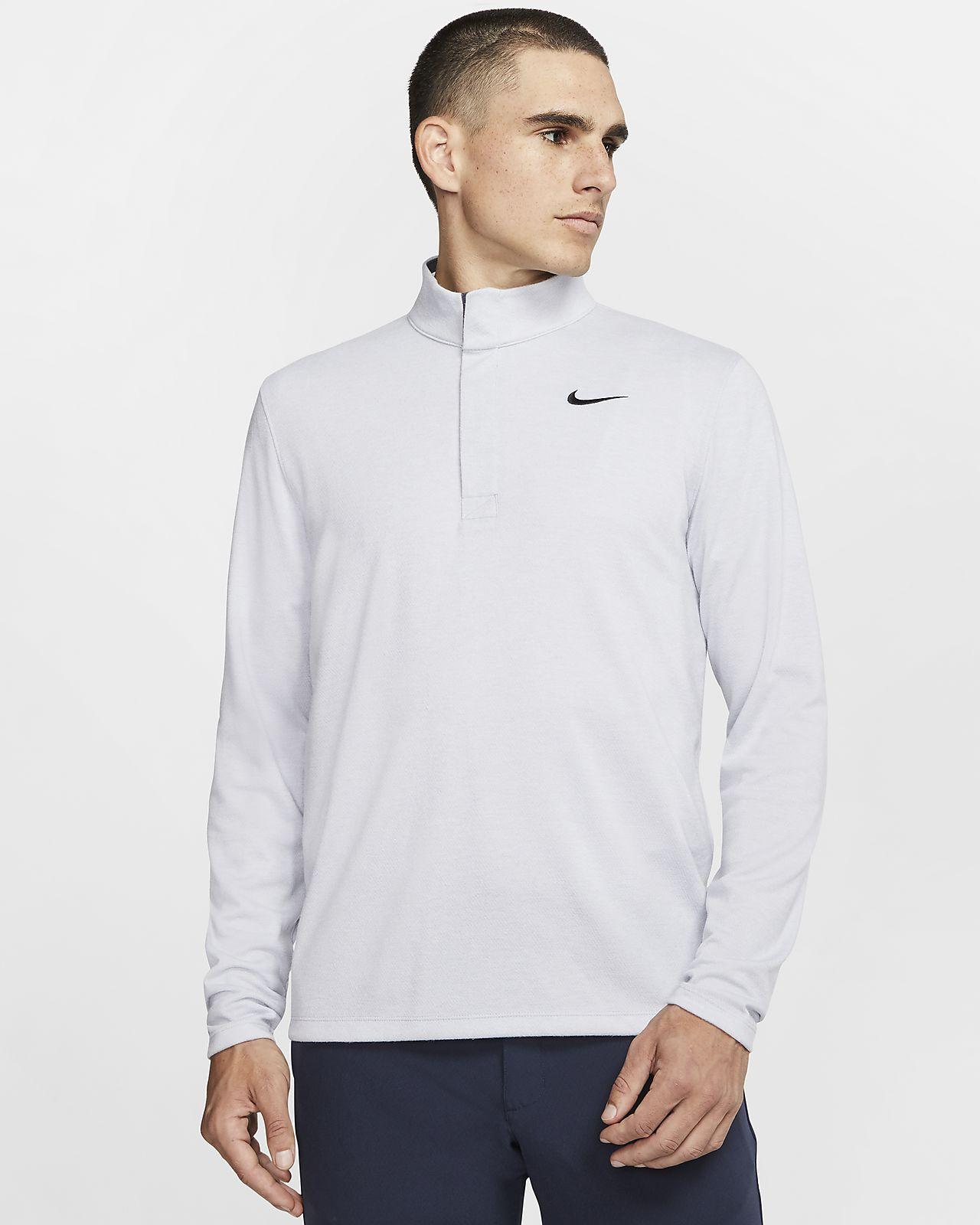 Męska koszulka do golfa z zamkiem 1/2 Nike Dri-FIT Victory