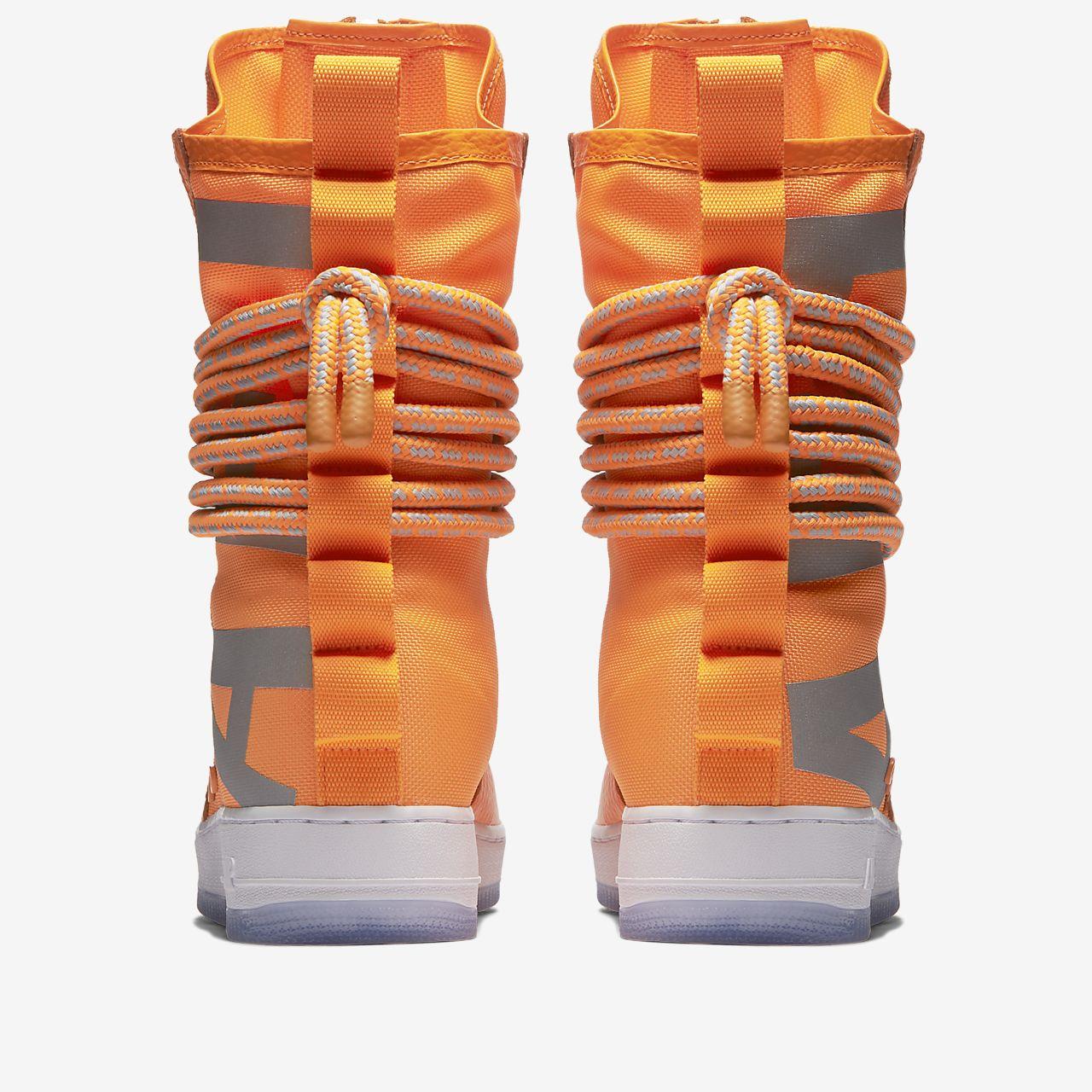 Nike SF Af1 Hi, Chaussures de Gymnastique Homme, Orange (Total Orange/Total Orange/White), 44.5 EU