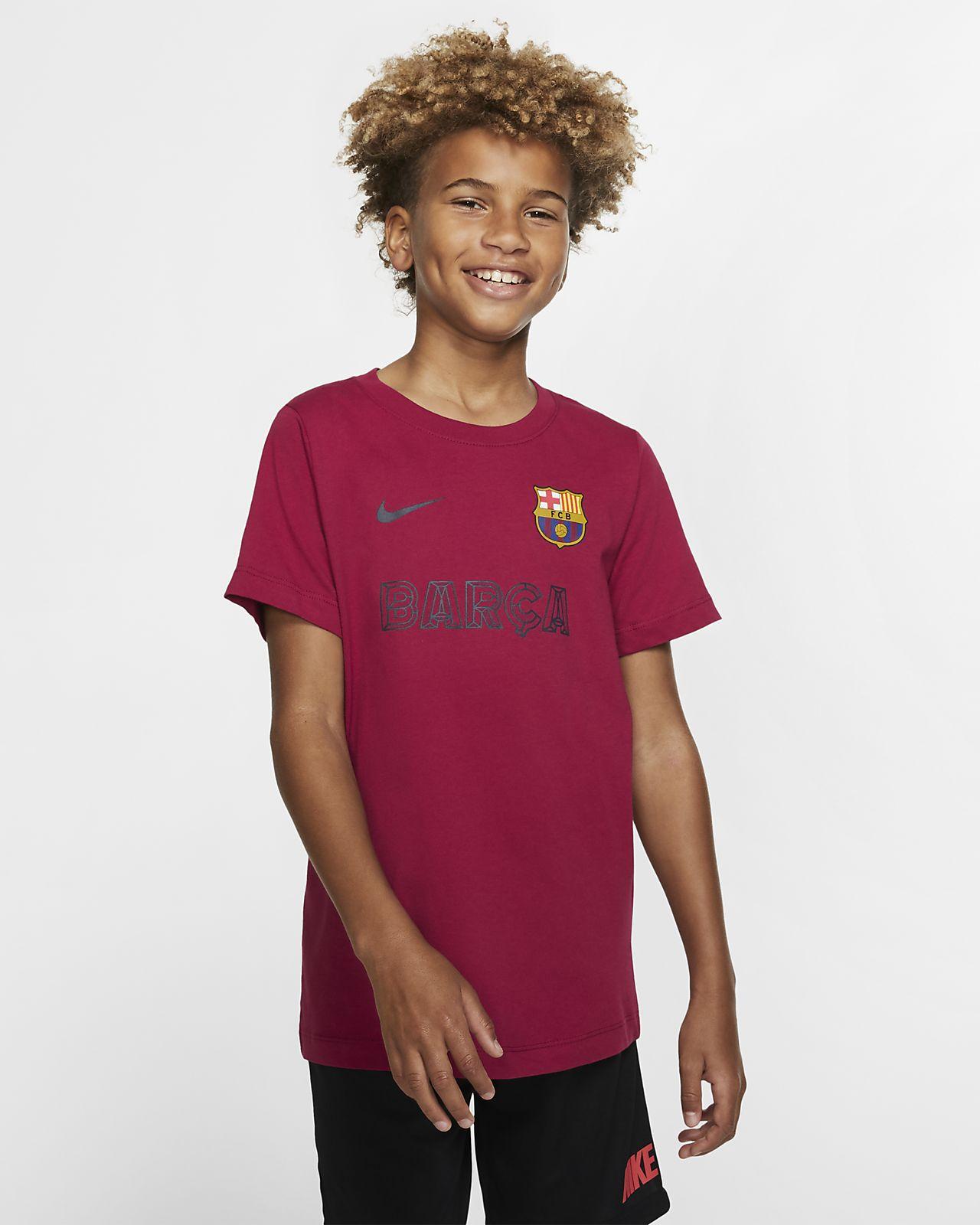 FC Barcelona Older Kids' T-Shirt
