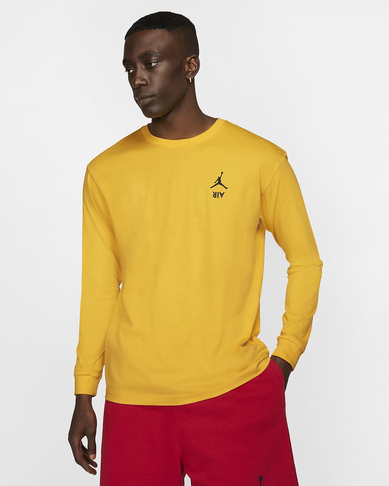 Jordan Legacy AJ4 Men's Long-Sleeve T-Shirt