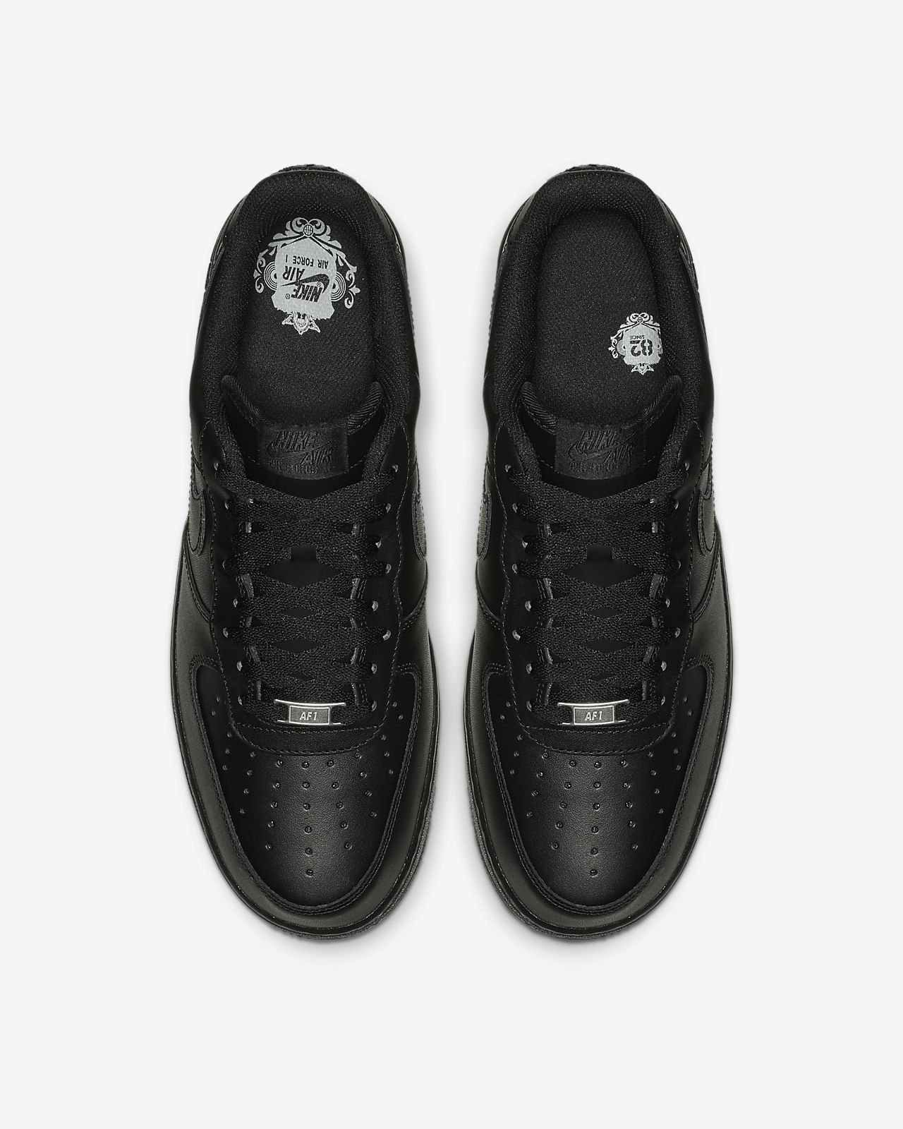 Nike Sportswear Air Force 1 07 Scarpe Uomo Nero 315122 001