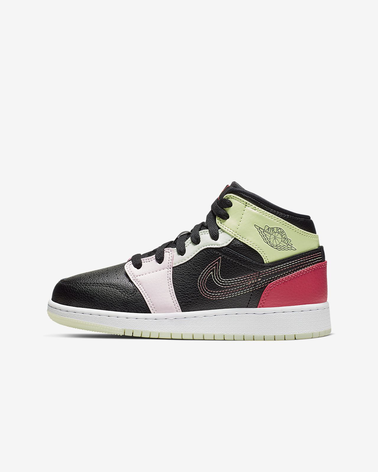 reputable site 081bd f9db6 Air Jordan 1 Mid SE Big Kids' Shoe (3.5y-9.5y)