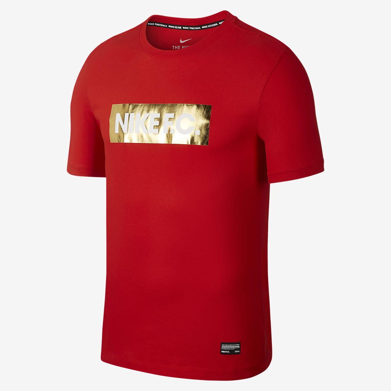 ナイキ F.C. Dri-FIT メンズ サッカー Tシャツ