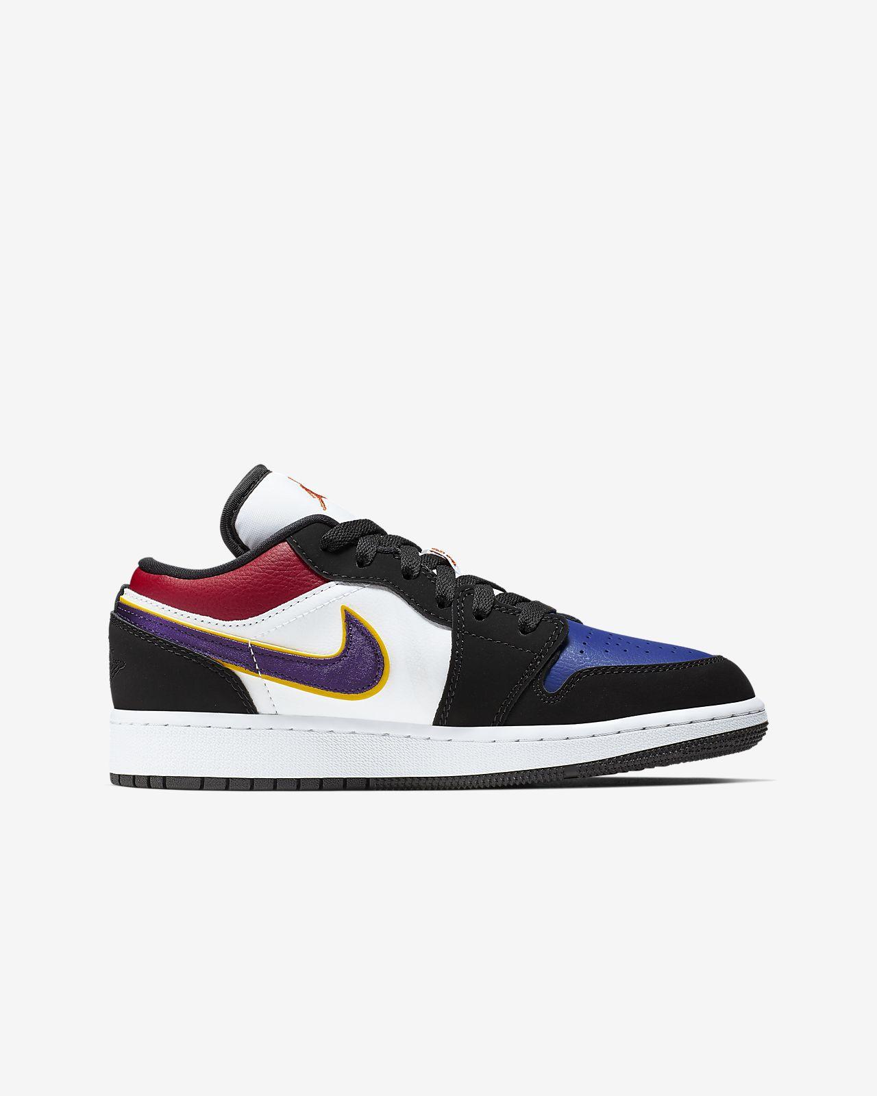 quality design 07db0 813ca Air Jordan 1 Low Big Kids' Shoe