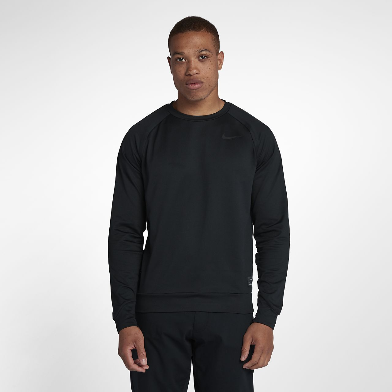 Nike Dri-FIT Langarm-Golfoberteil für Herren