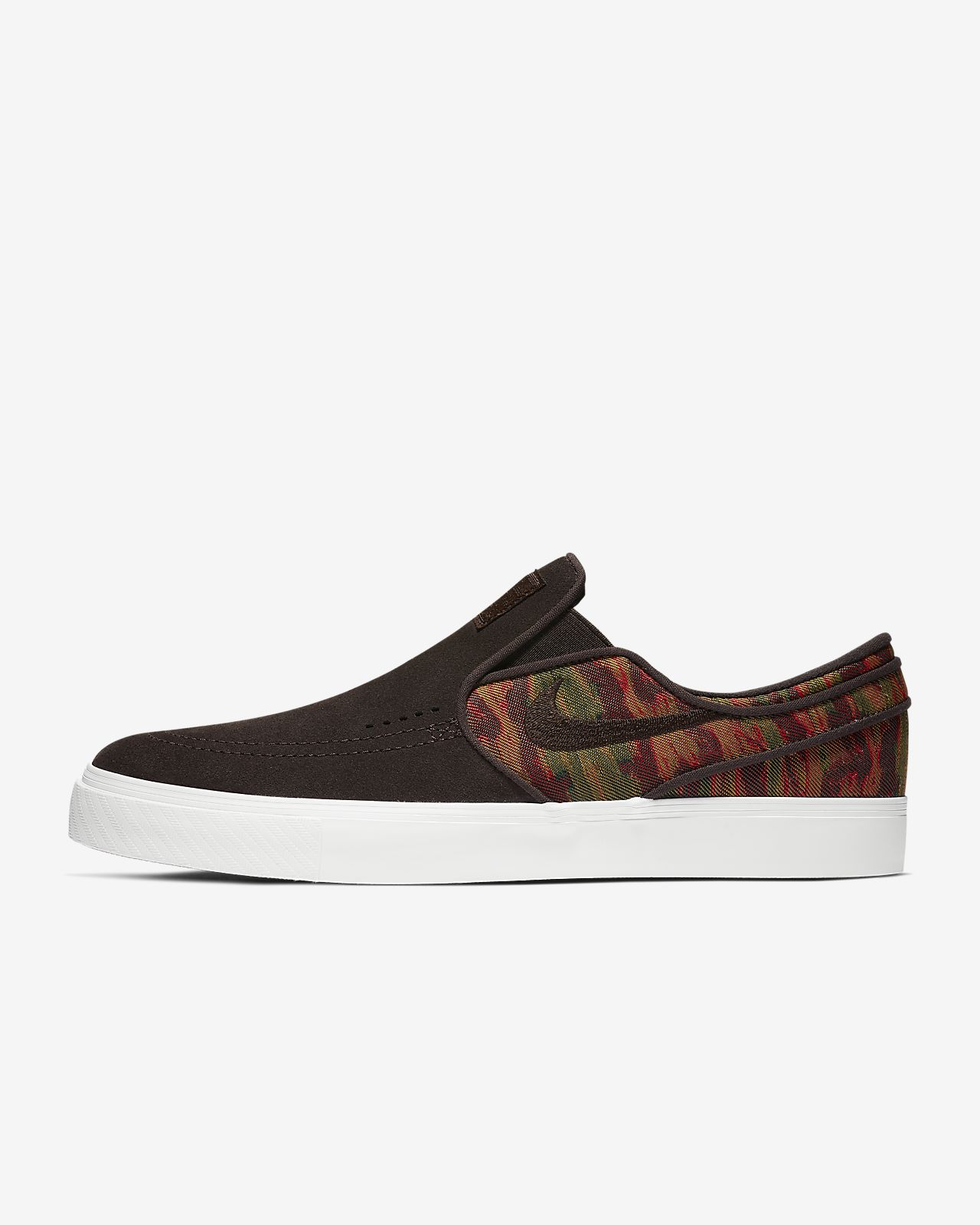 Nike SB Zoom Stefan Janoski Slip-On Premium Men's Skateboarding Shoe